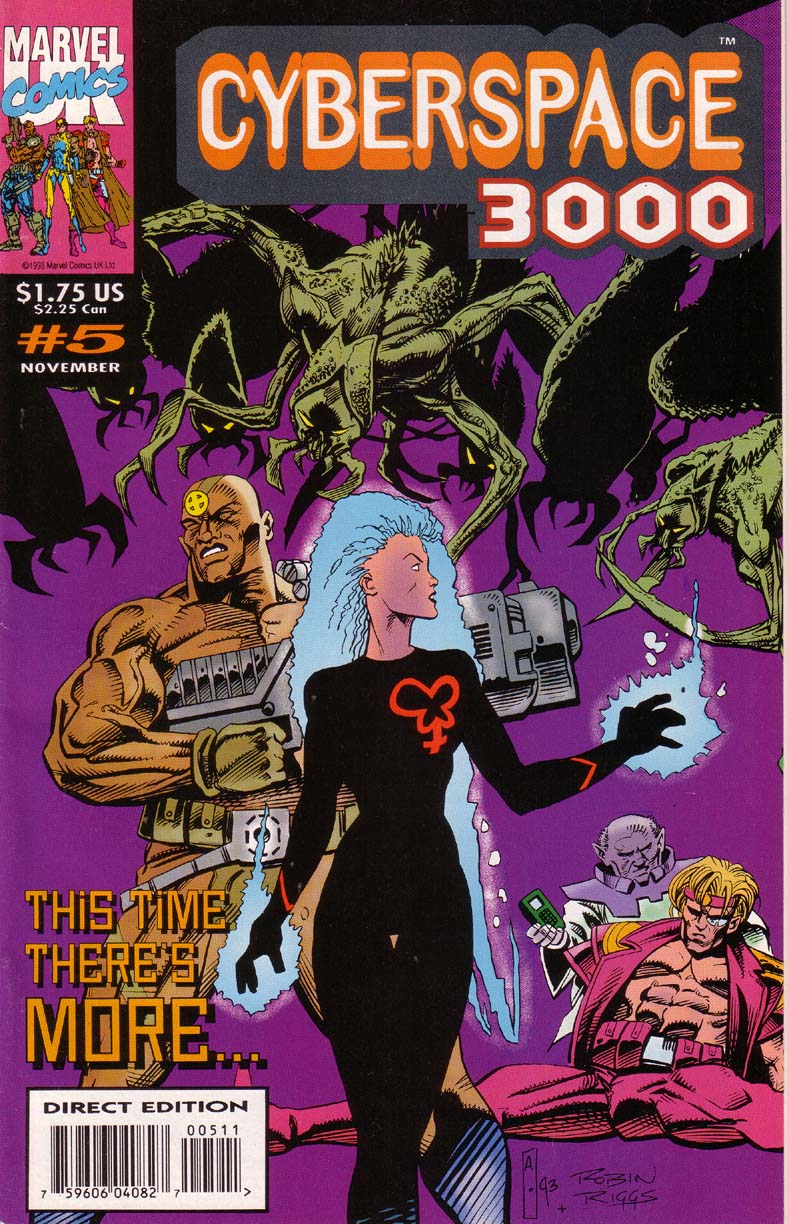 Read online Cyberspace 3000 comic -  Issue #5 - 1