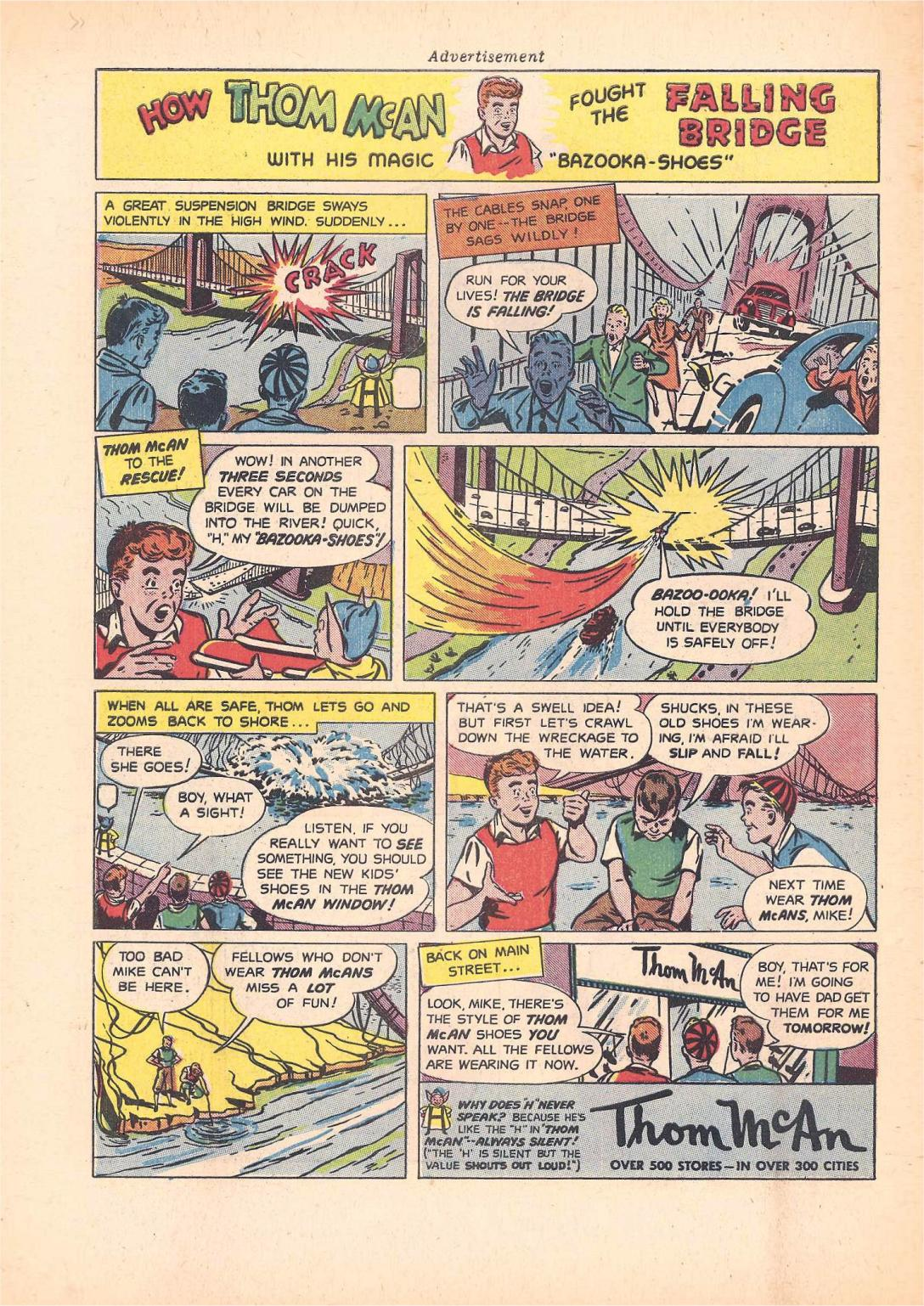 Read online Sensation (Mystery) Comics comic -  Issue #55 - 50