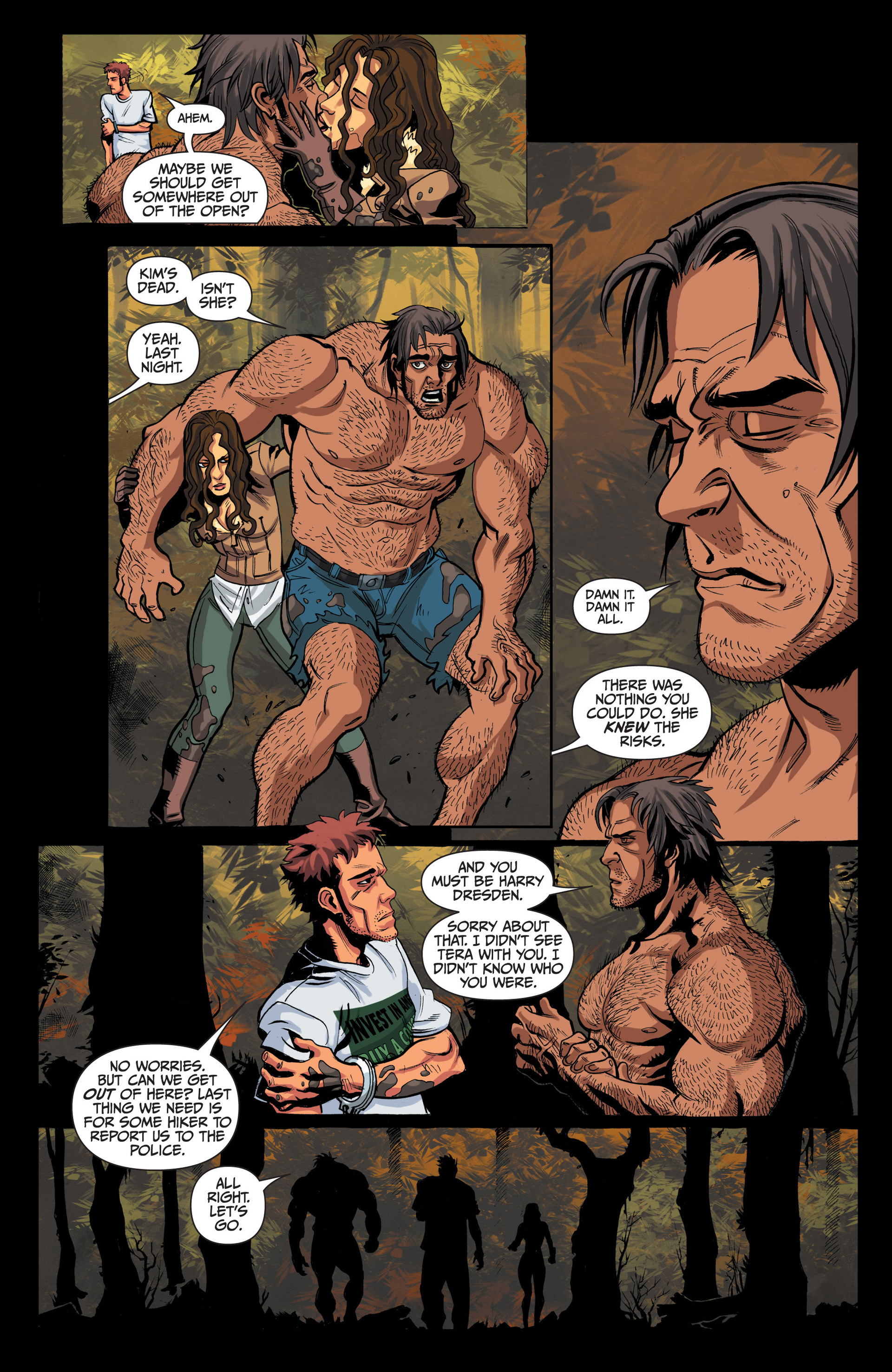 Read online Jim Butcher's The Dresden Files: Fool Moon comic -  Issue #4 - 14