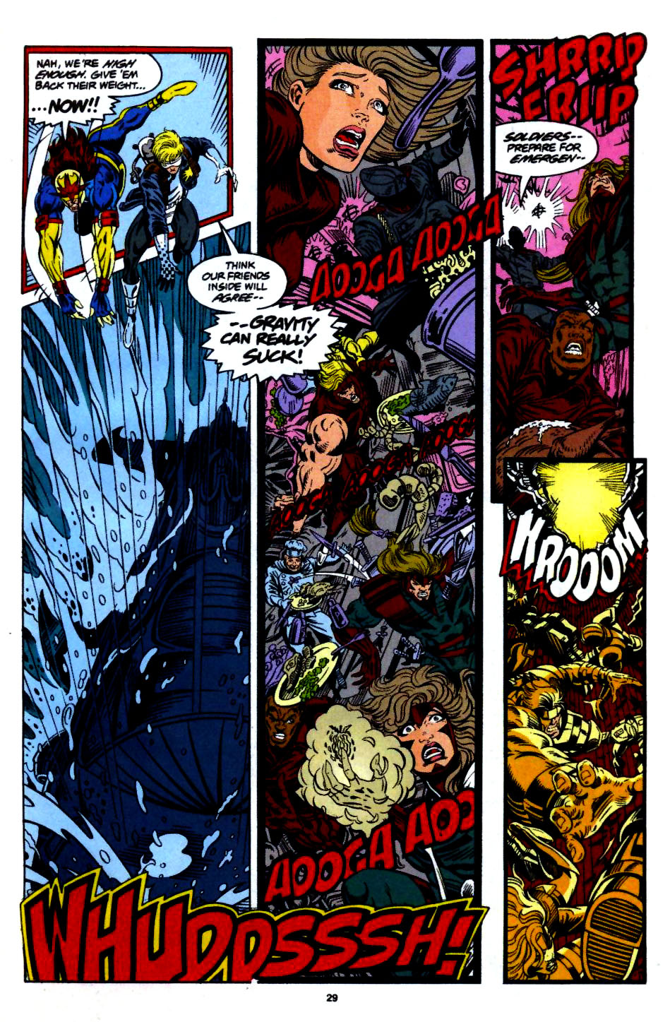 The New Warriors Issue #55 #59 - English 22