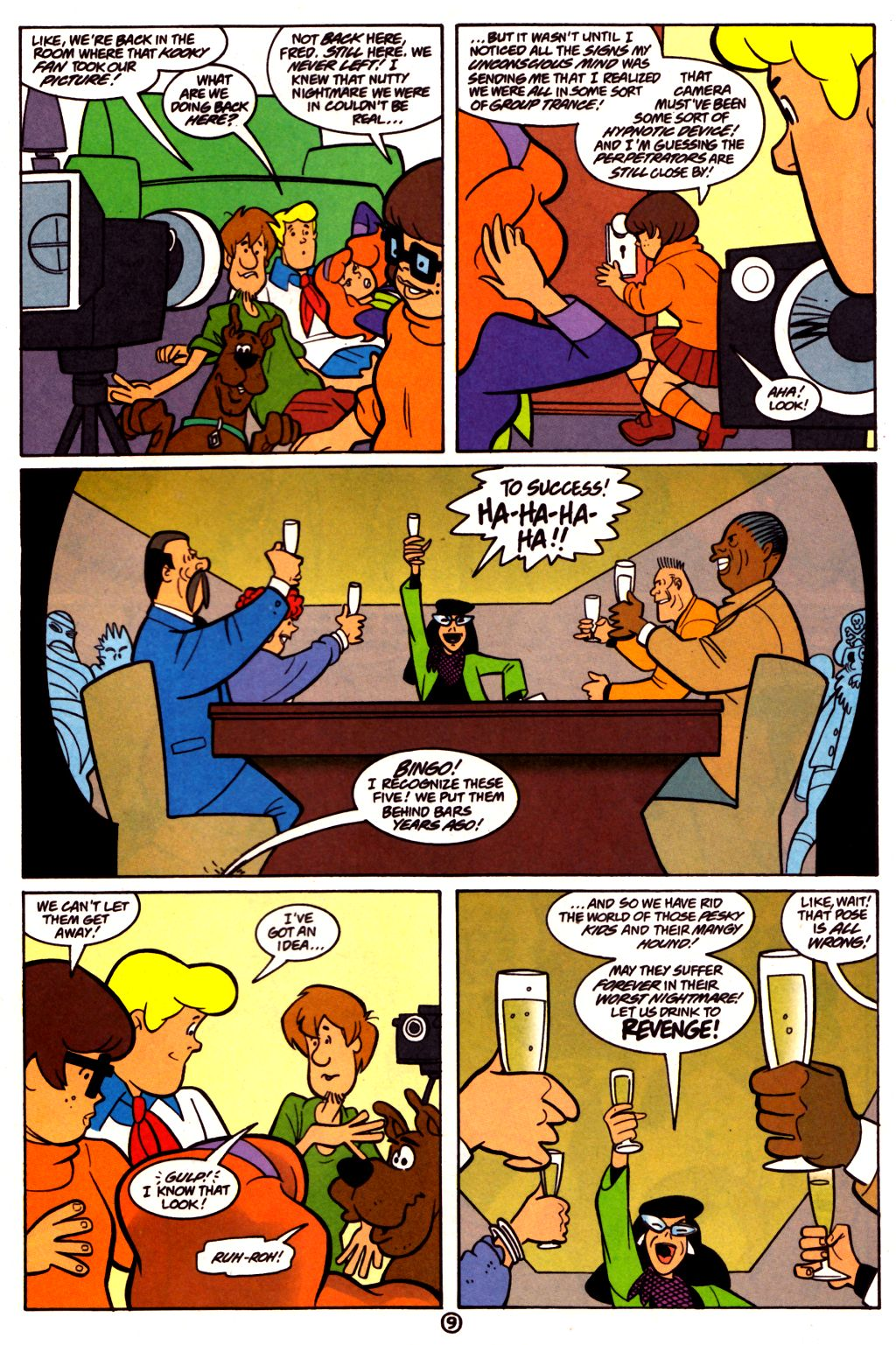 Read online Scooby-Doo (1997) comic -  Issue #21 - 22
