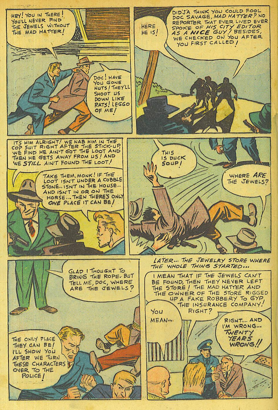 Read online Shadow Comics comic -  Issue #63 - 26