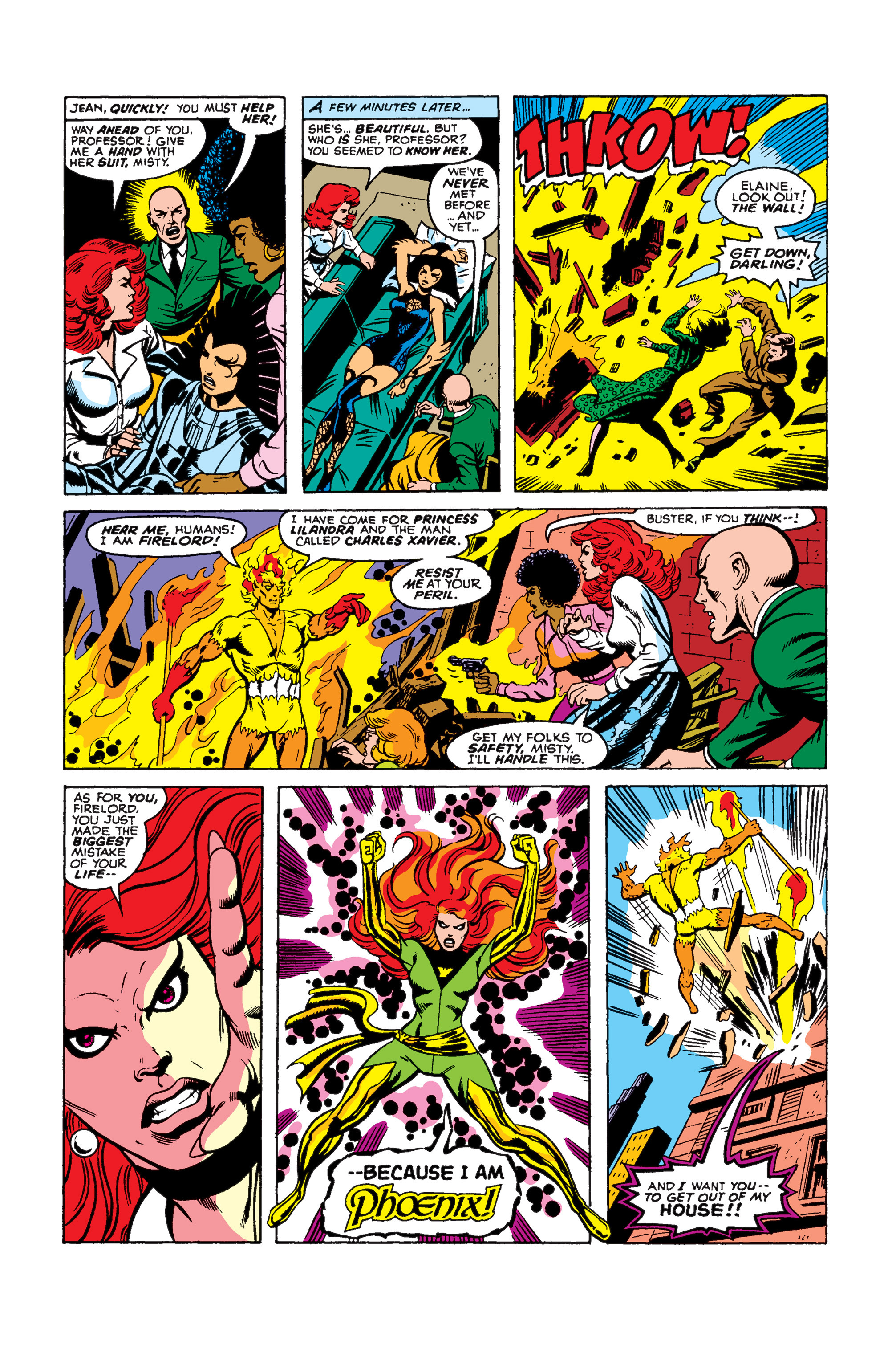 Read online Uncanny X-Men (1963) comic -  Issue #105 - 10