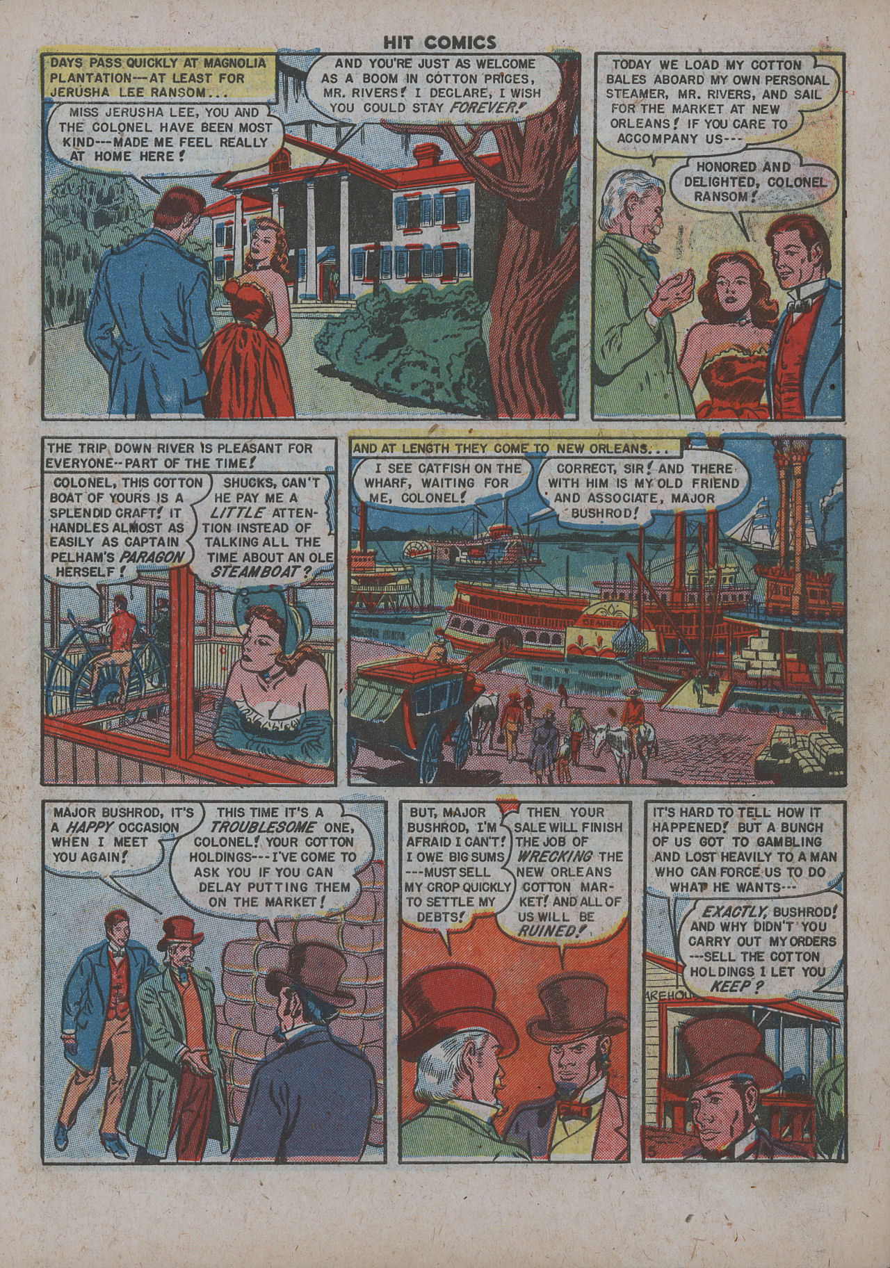 Read online Hit Comics comic -  Issue #63 - 7