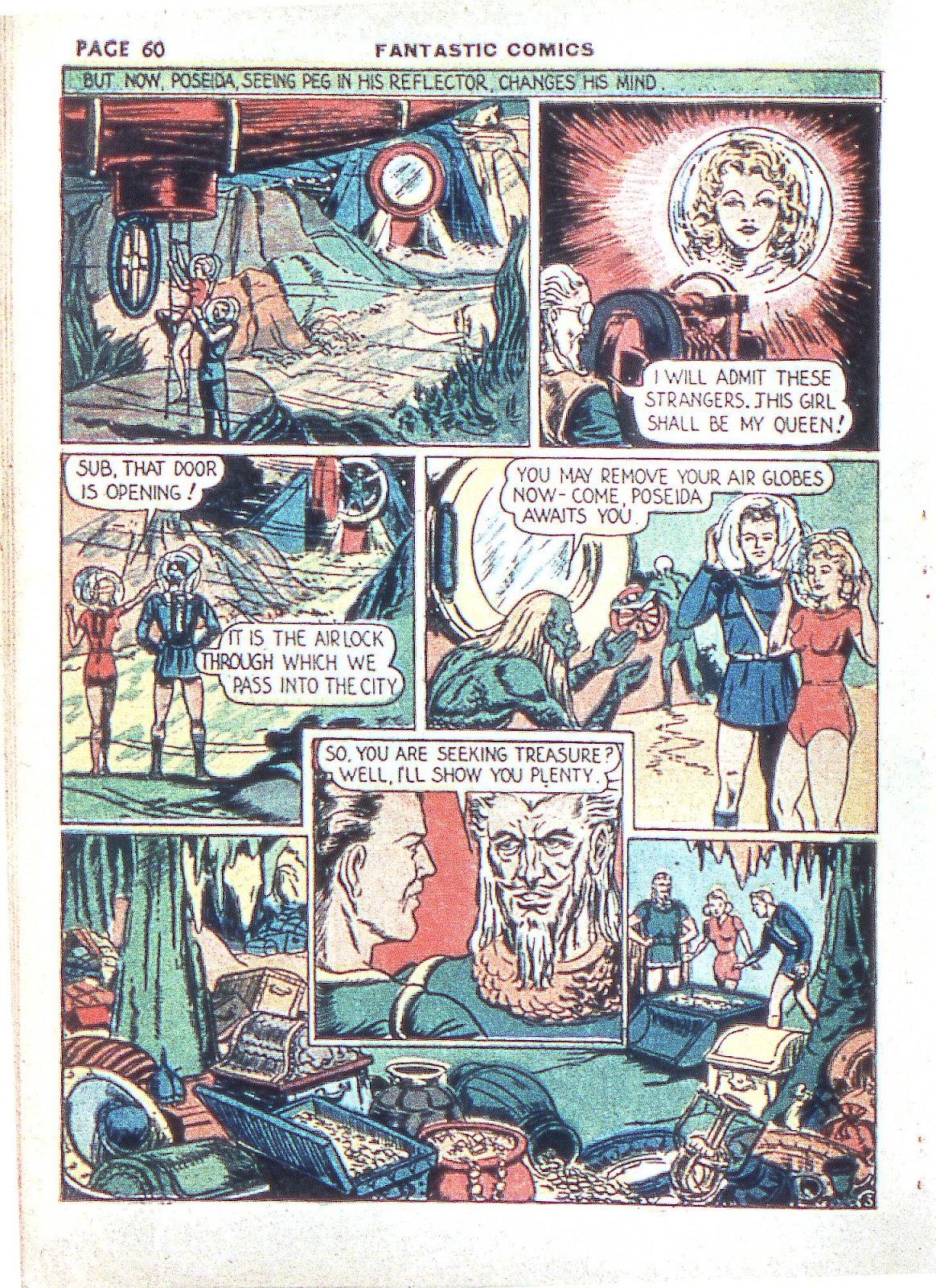 Read online Fantastic Comics comic -  Issue #3 - 62