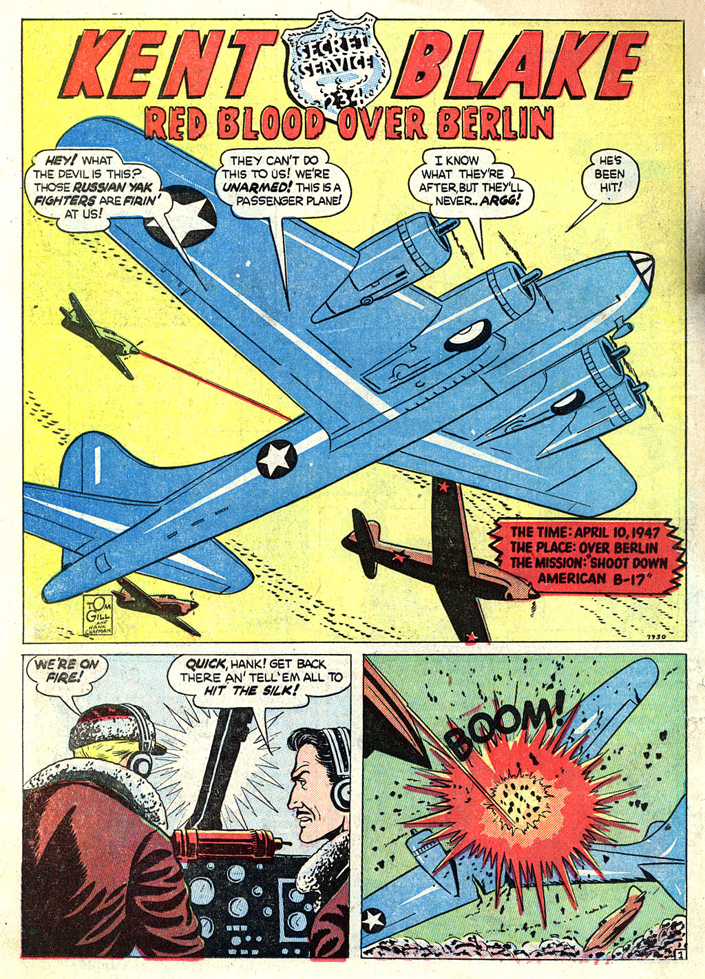 Kent Blake of the Secret Service issue 1 - Page 22