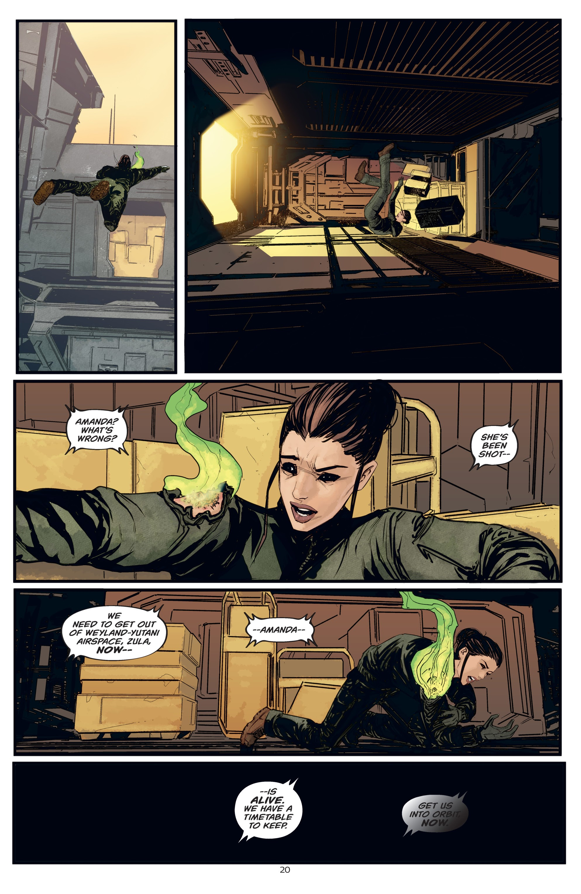 Read online Aliens: Resistance comic -  Issue # _TPB - 20