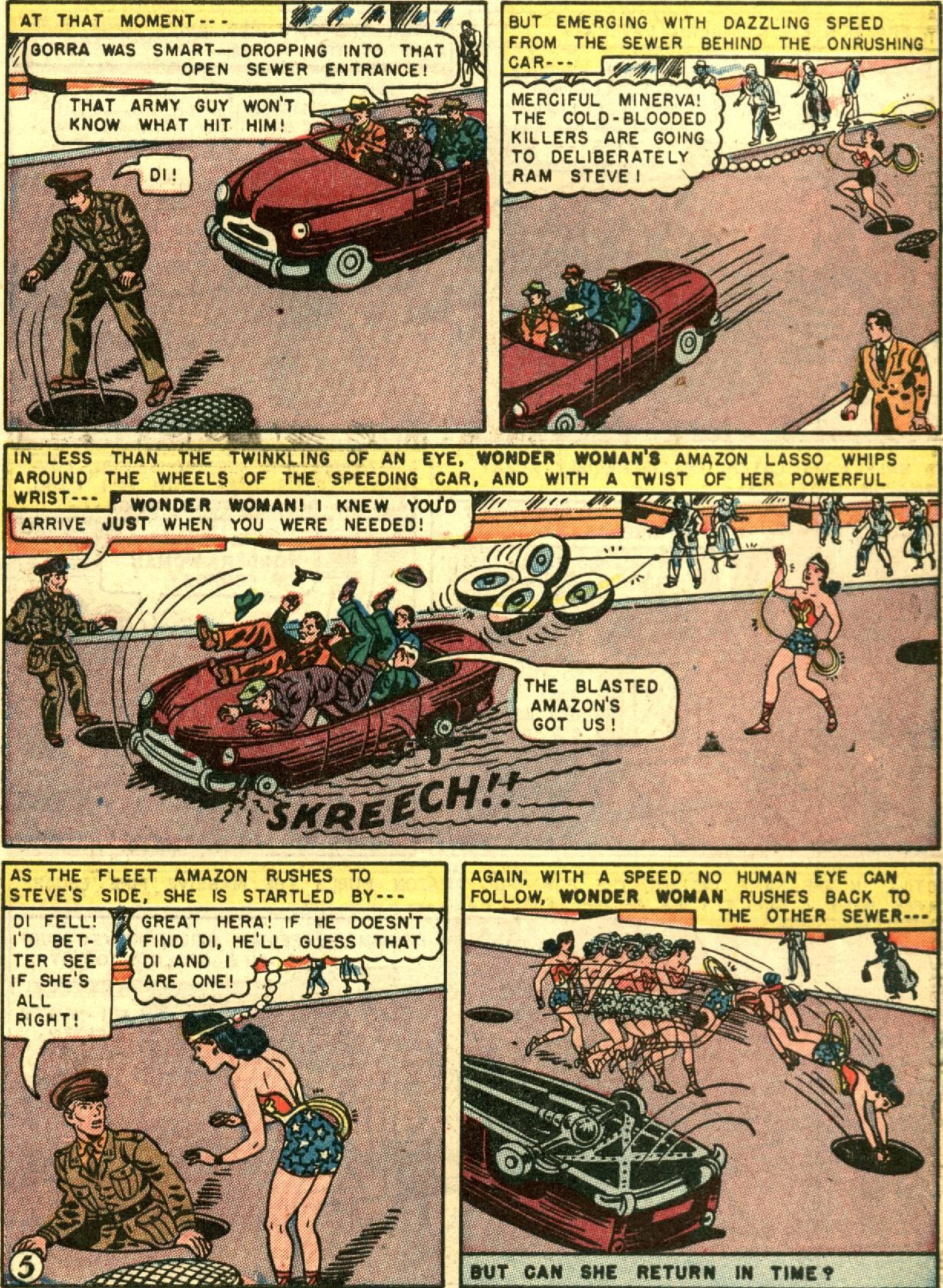 Read online Wonder Woman (1942) comic -  Issue #67 - 7