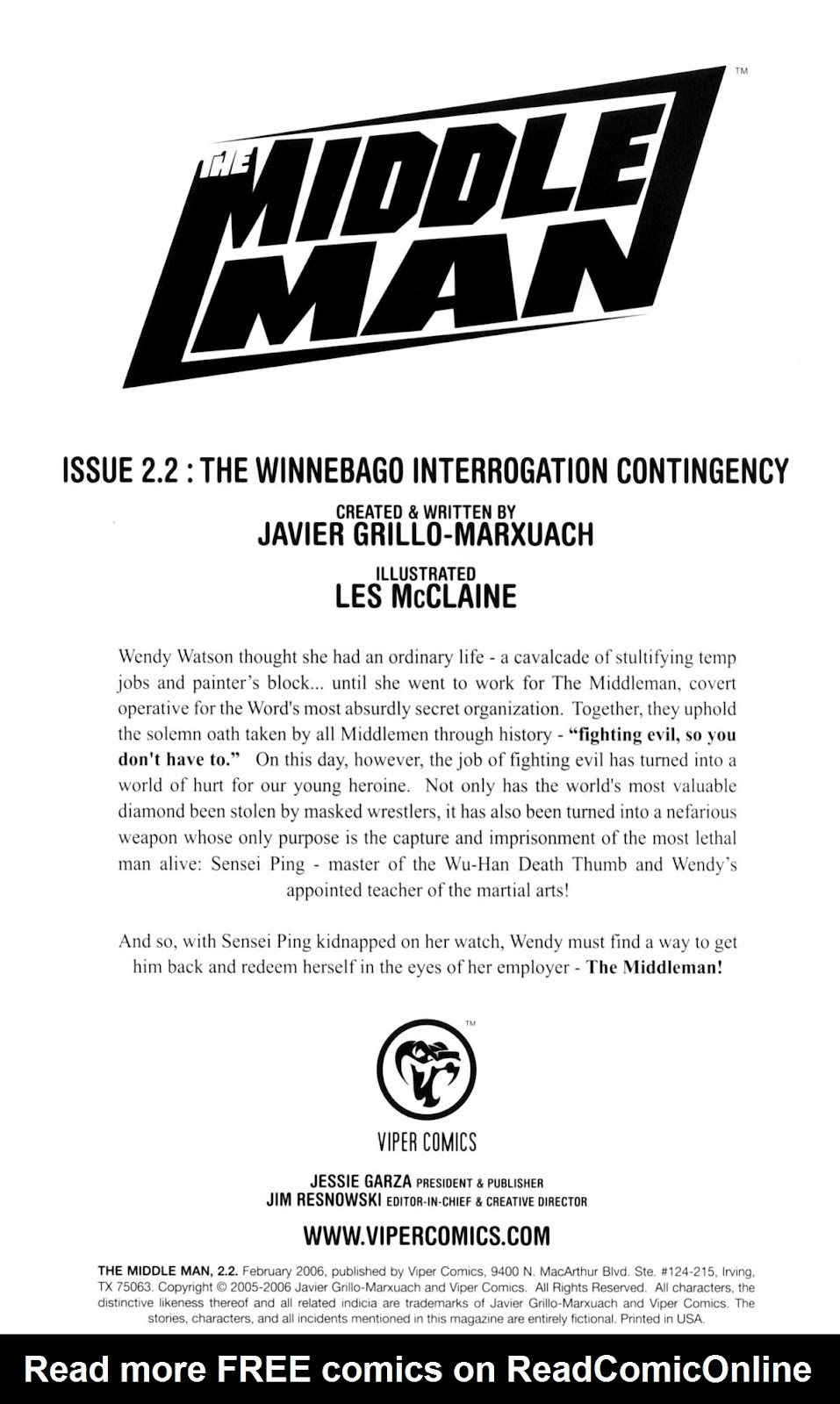 Read online The Middleman (2006) comic -  Issue #2 - 2