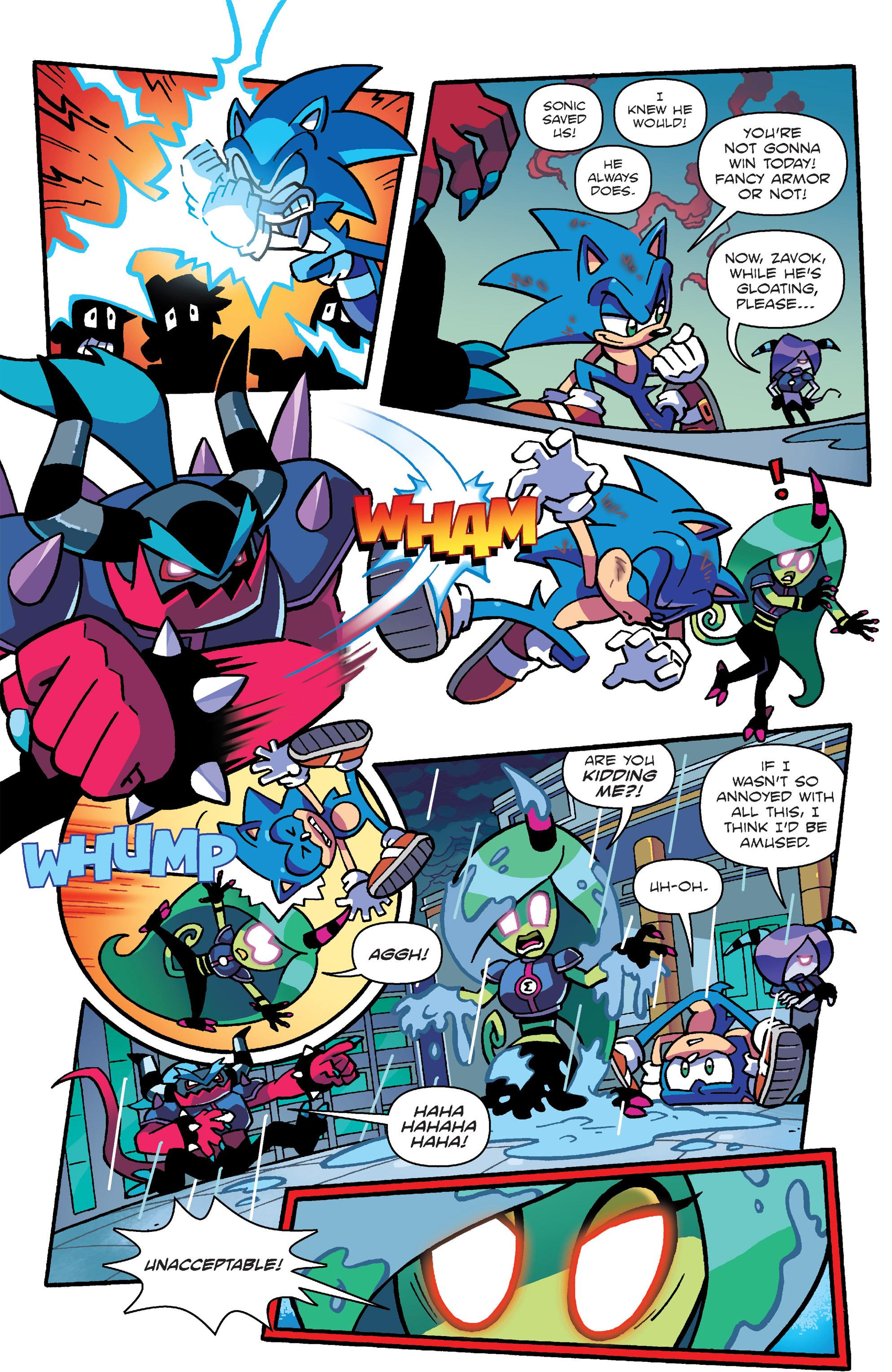 Read online Sonic: Worlds Unite Battles comic -  Issue # Full - 8
