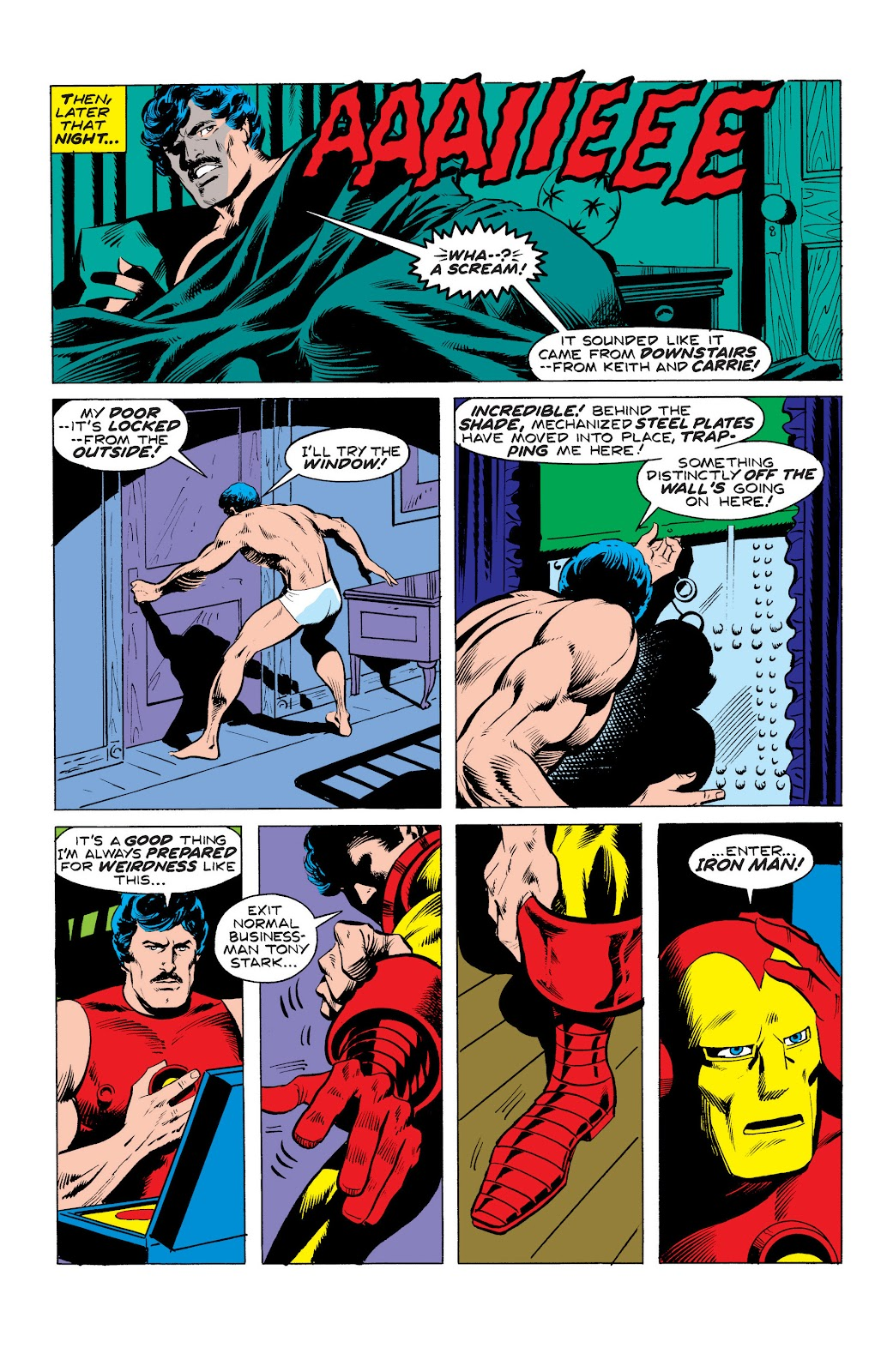 Read online Marvel Masterworks: The Invincible Iron Man comic -  Issue # TPB 10 (Part 3) - 1