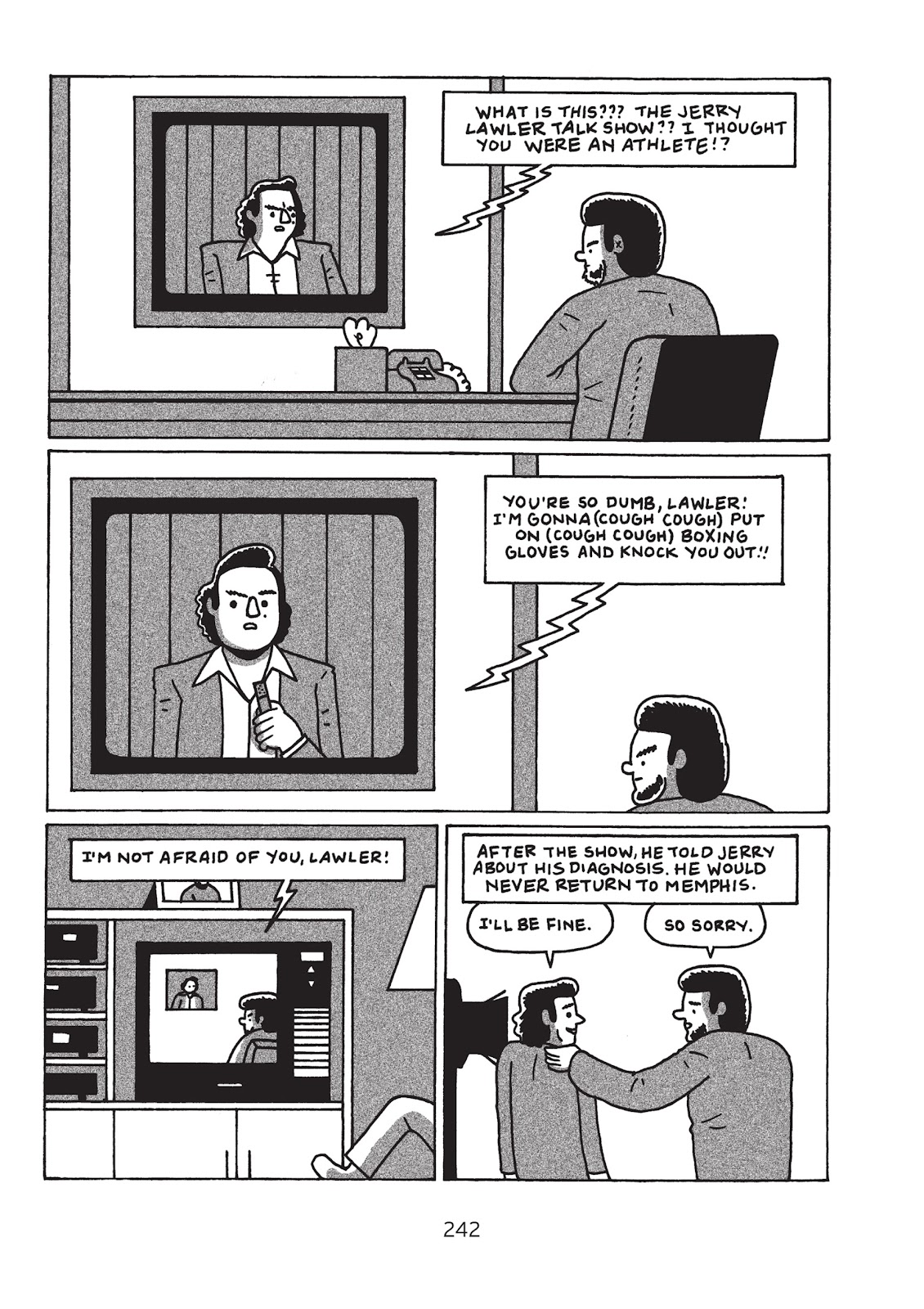 Read online Is This Guy For Real?: The Unbelievable Andy Kaufman comic -  Issue # TPB (Part 3) - 47