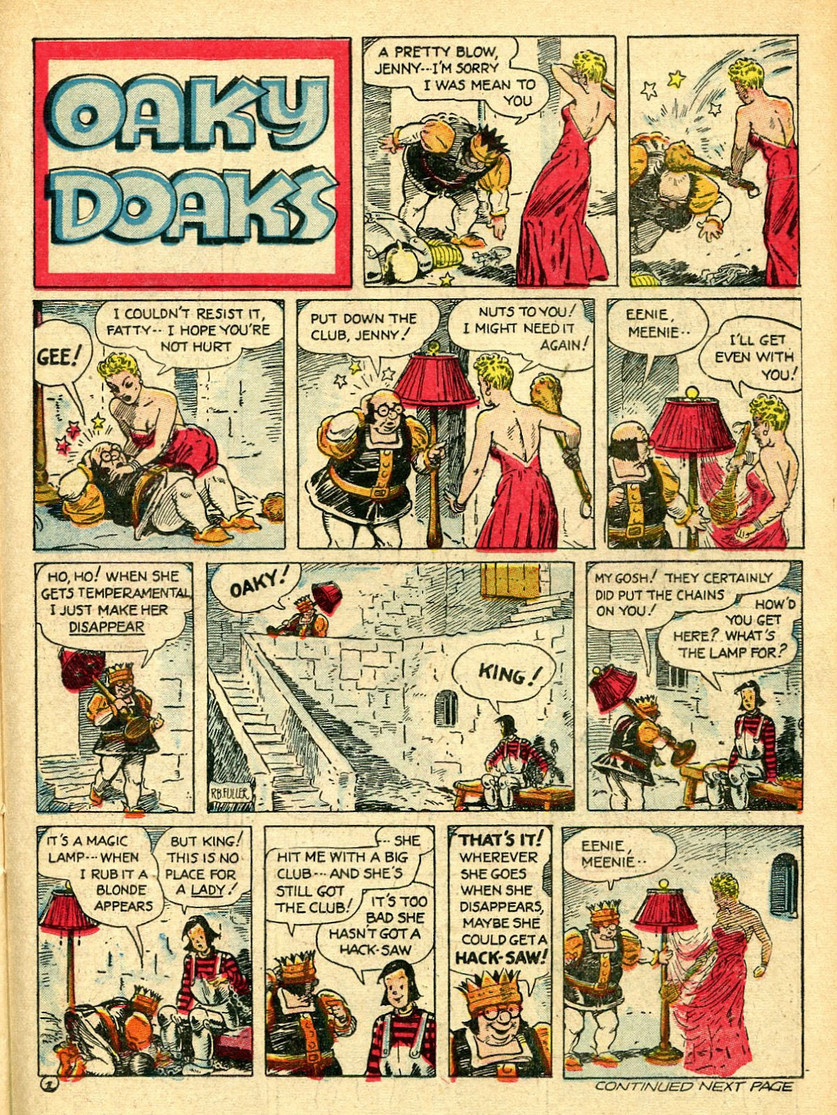 Read online Famous Funnies comic -  Issue #94 - 43