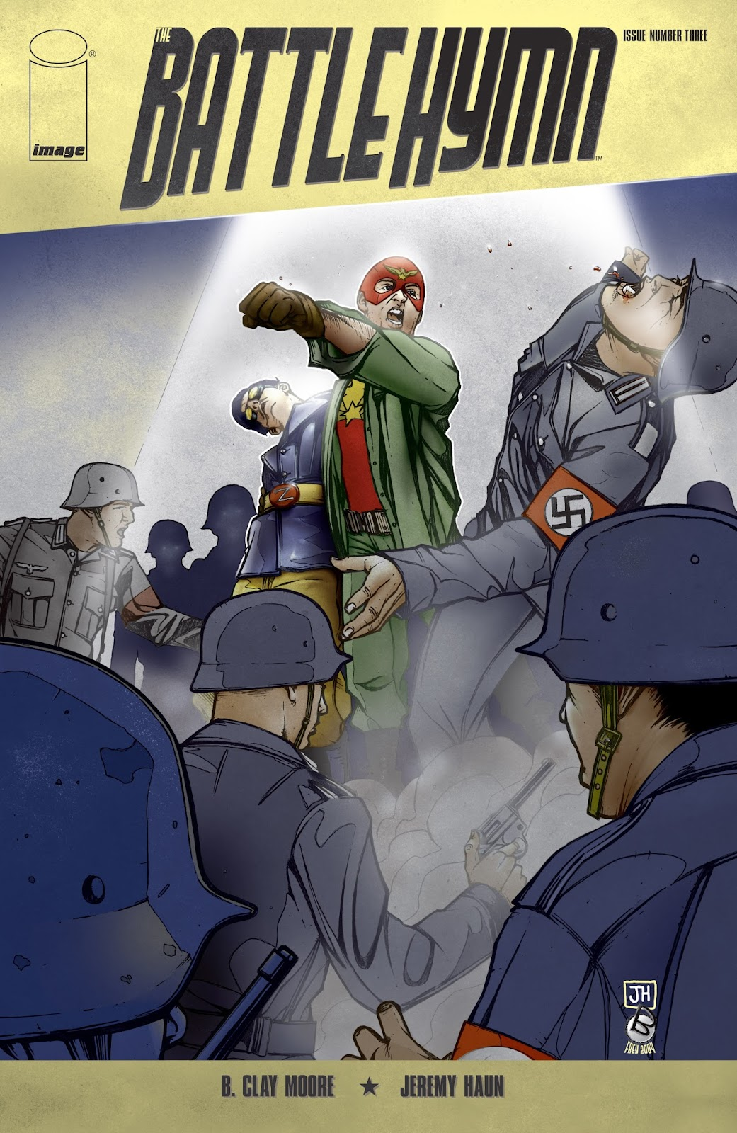 Battle Hymn issue 3 - Page 1
