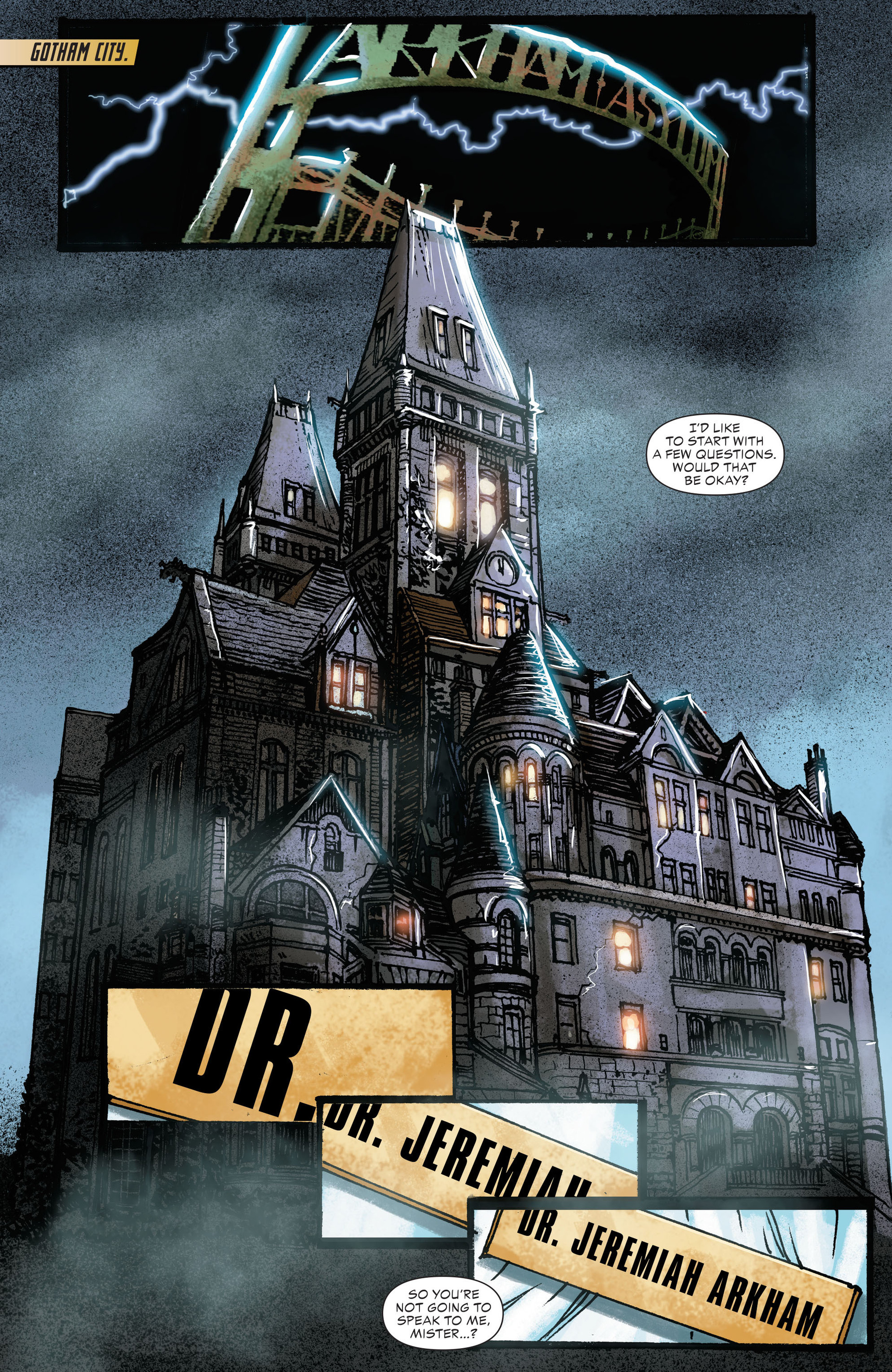Read online All-Star Western (2011) comic -  Issue #22 - 2