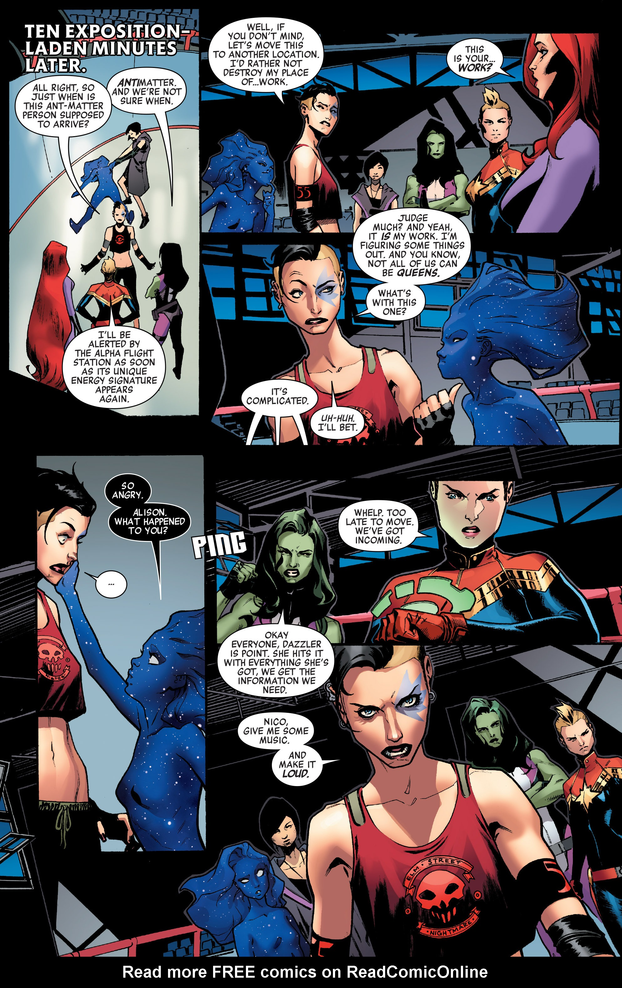 Read online A-Force (2016) comic -  Issue #2 - 21