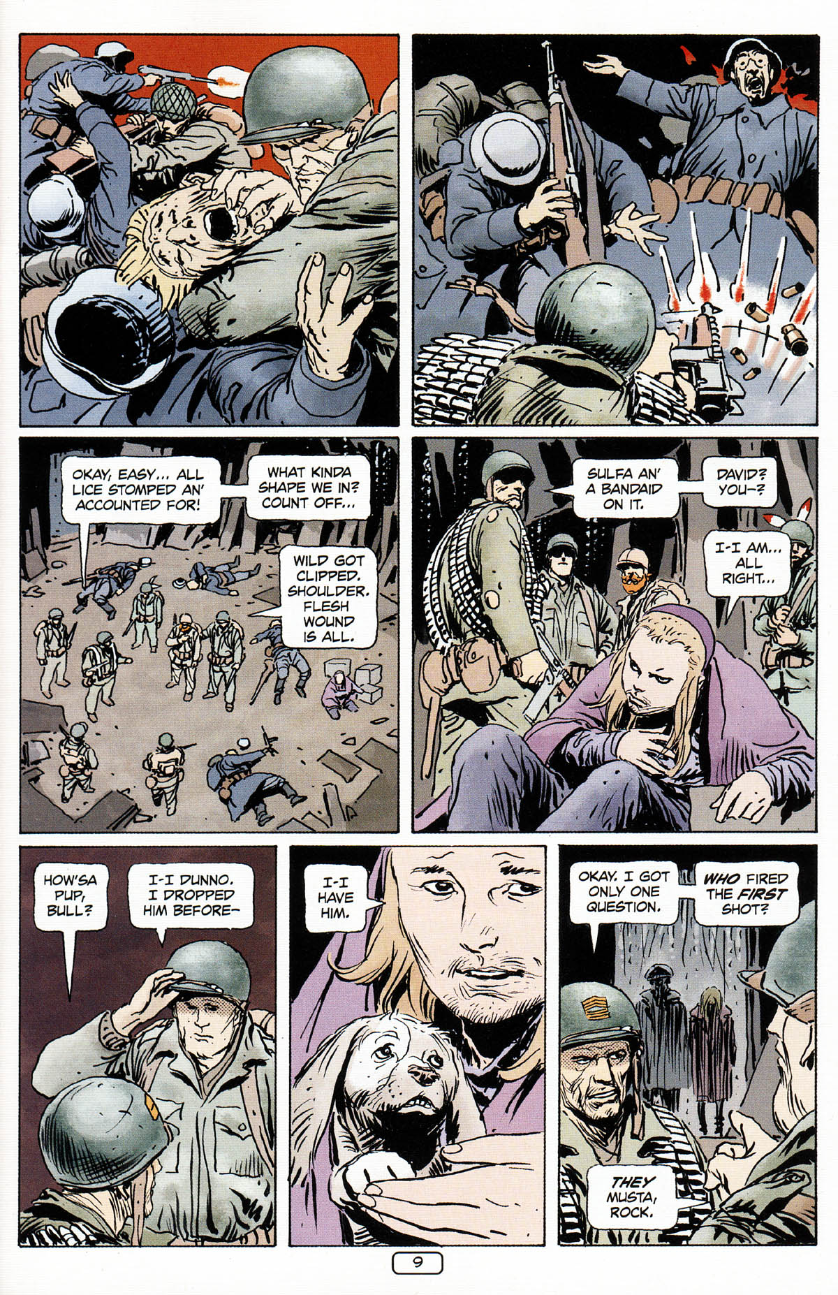 Read online Sgt. Rock: The Prophecy comic -  Issue #3 - 10
