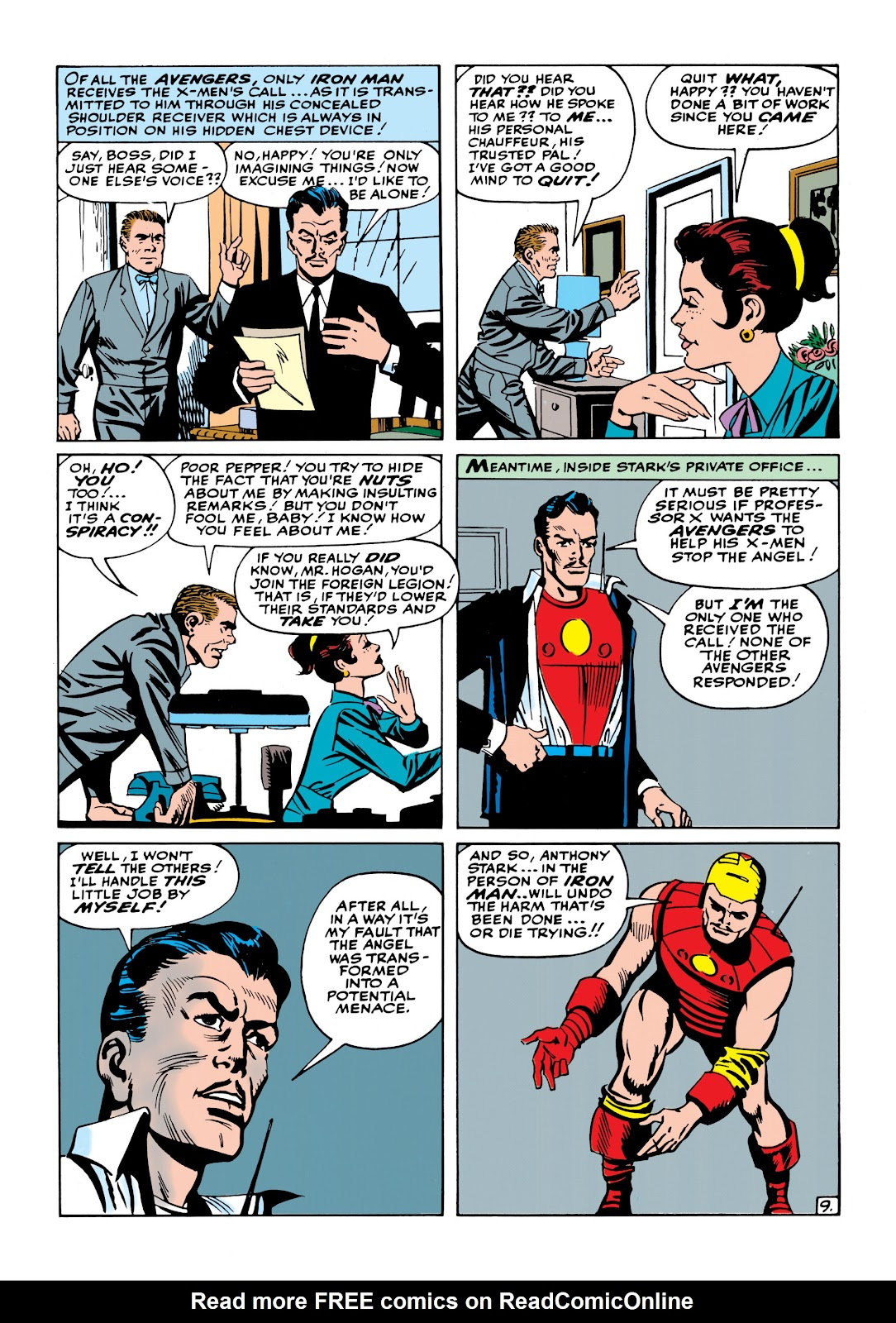 Read online Marvel Masterworks: The Invincible Iron Man comic -  Issue # TPB 1 (Part 2) - 67
