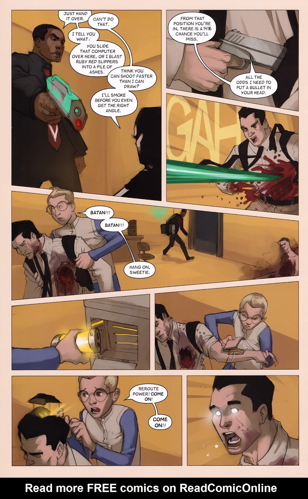 Read online Vescell comic -  Issue #6 - 28