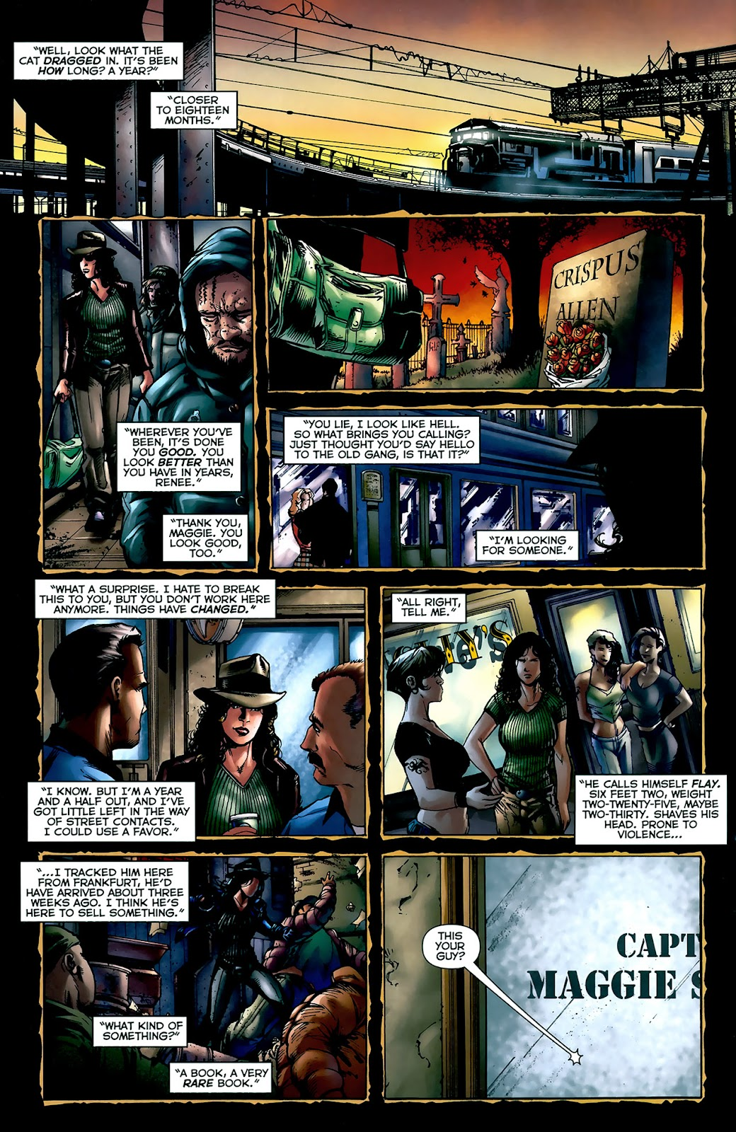 Crime Bible: The Five Lessons of Blood issue 3 - Page 6