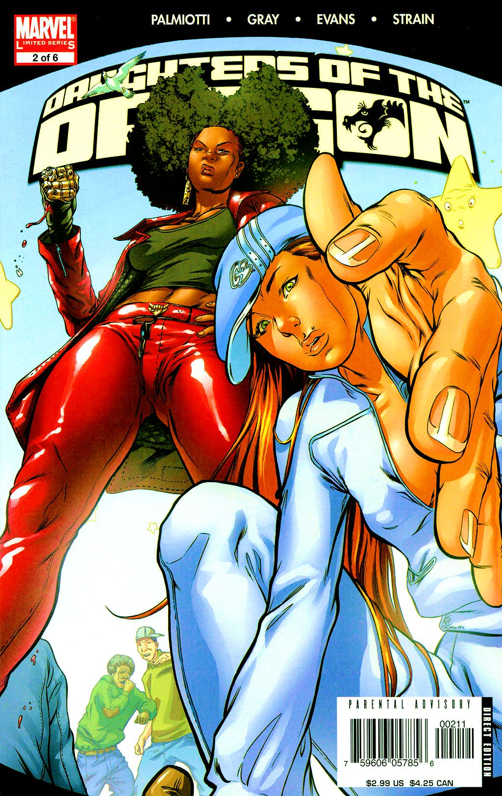 Read online Daughters of the Dragon comic -  Issue #2 - 1