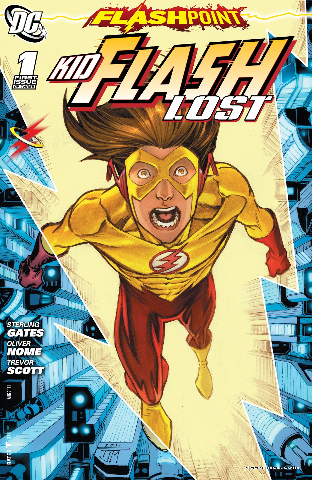 Flashpoint: Kid Flash Lost issue 1 - Page 1