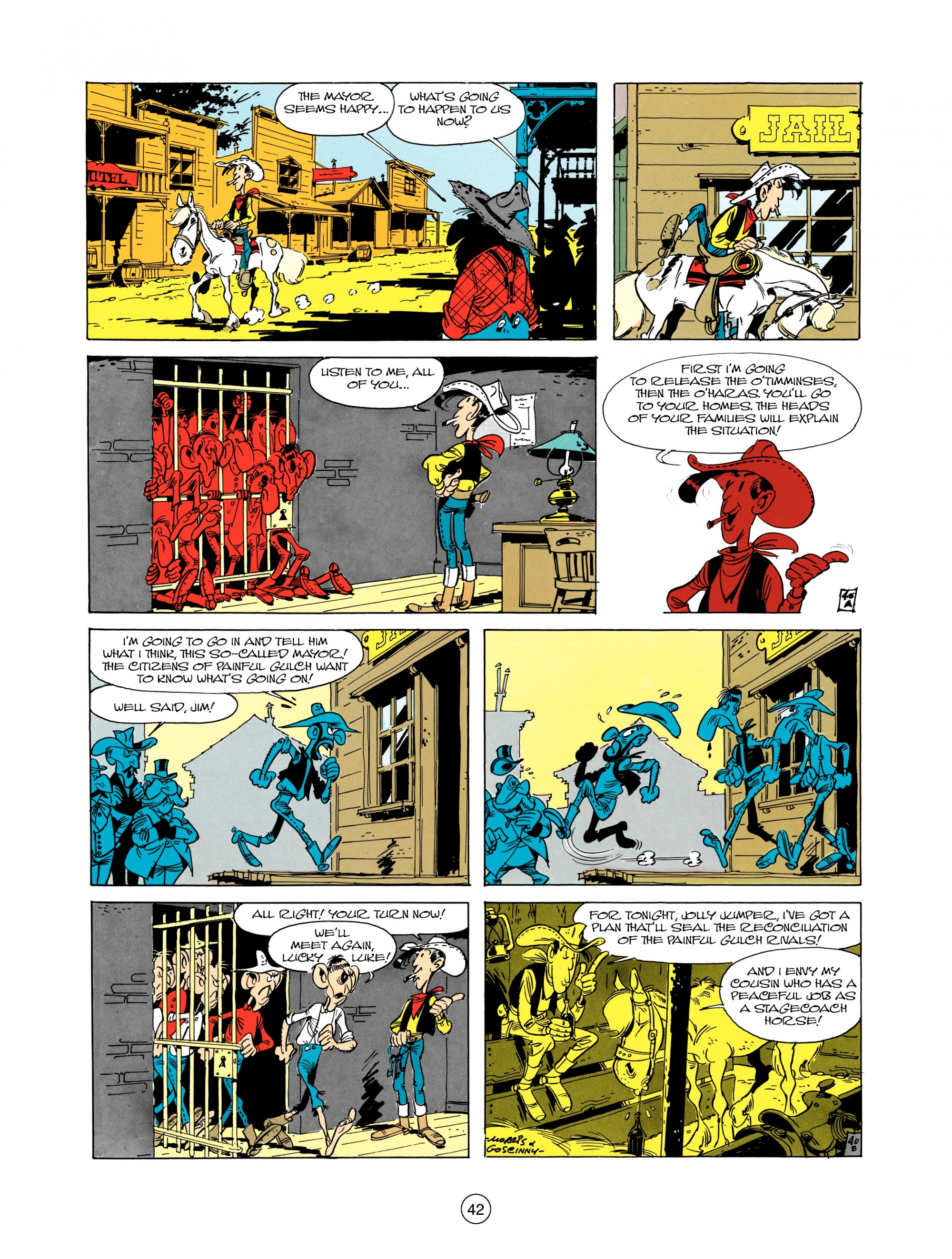Read online A Lucky Luke Adventure comic -  Issue #12 - 42