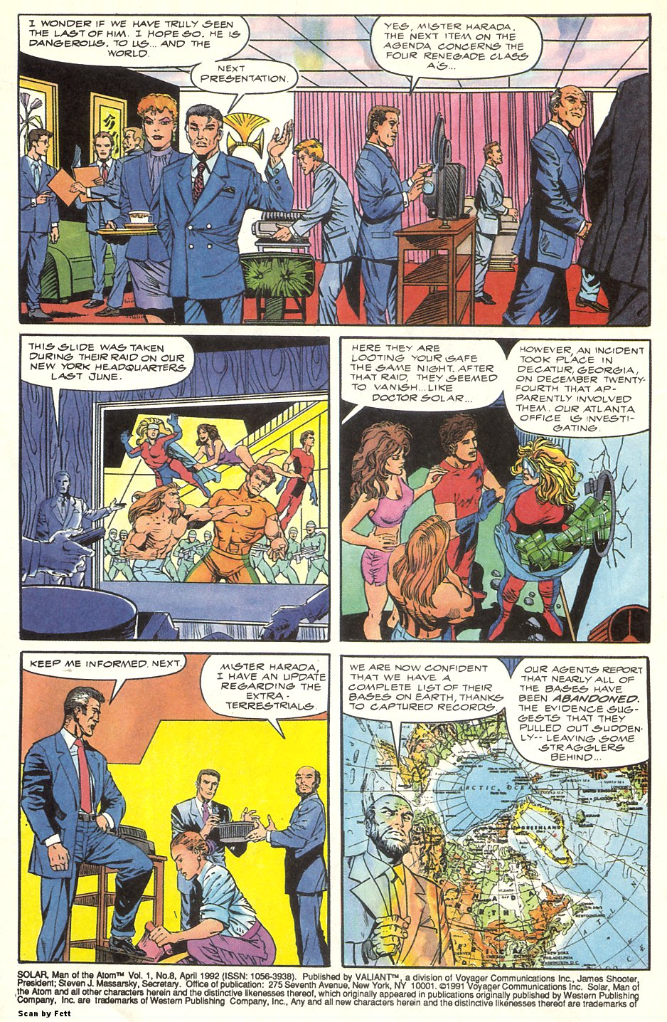 Read online Solar, Man of the Atom comic -  Issue #8 - 4