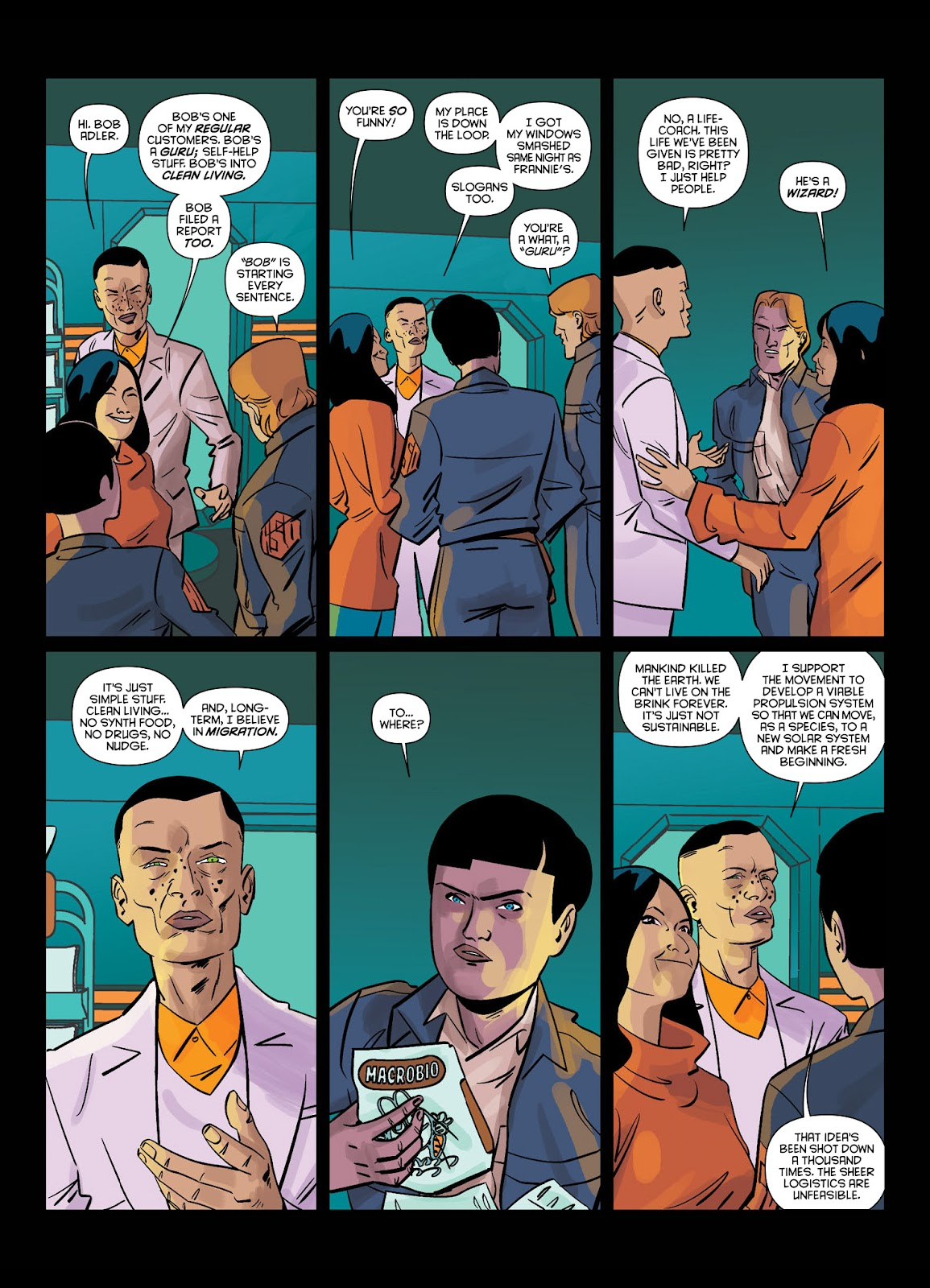 Read online Brink comic -  Issue # TPB 1 - 28