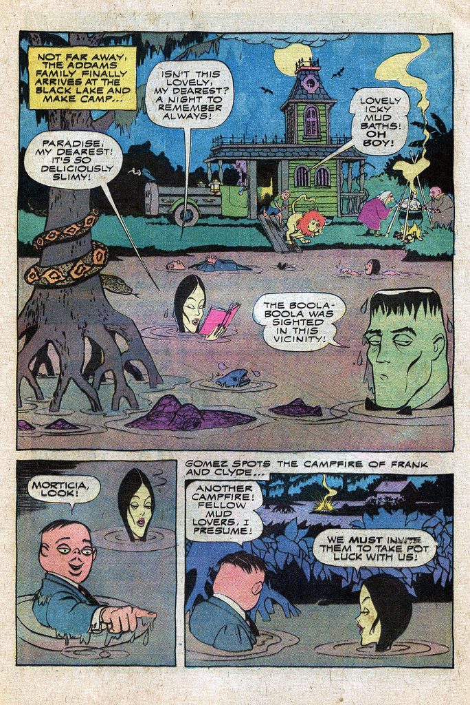 Read online Addams Family comic -  Issue #1 - 5