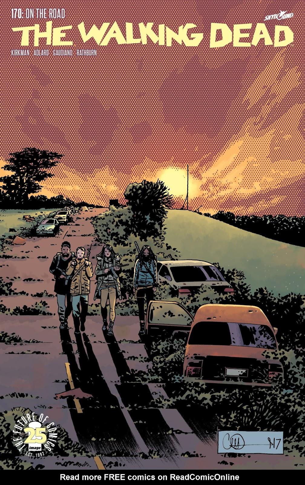 The Walking Dead 170 Page 1