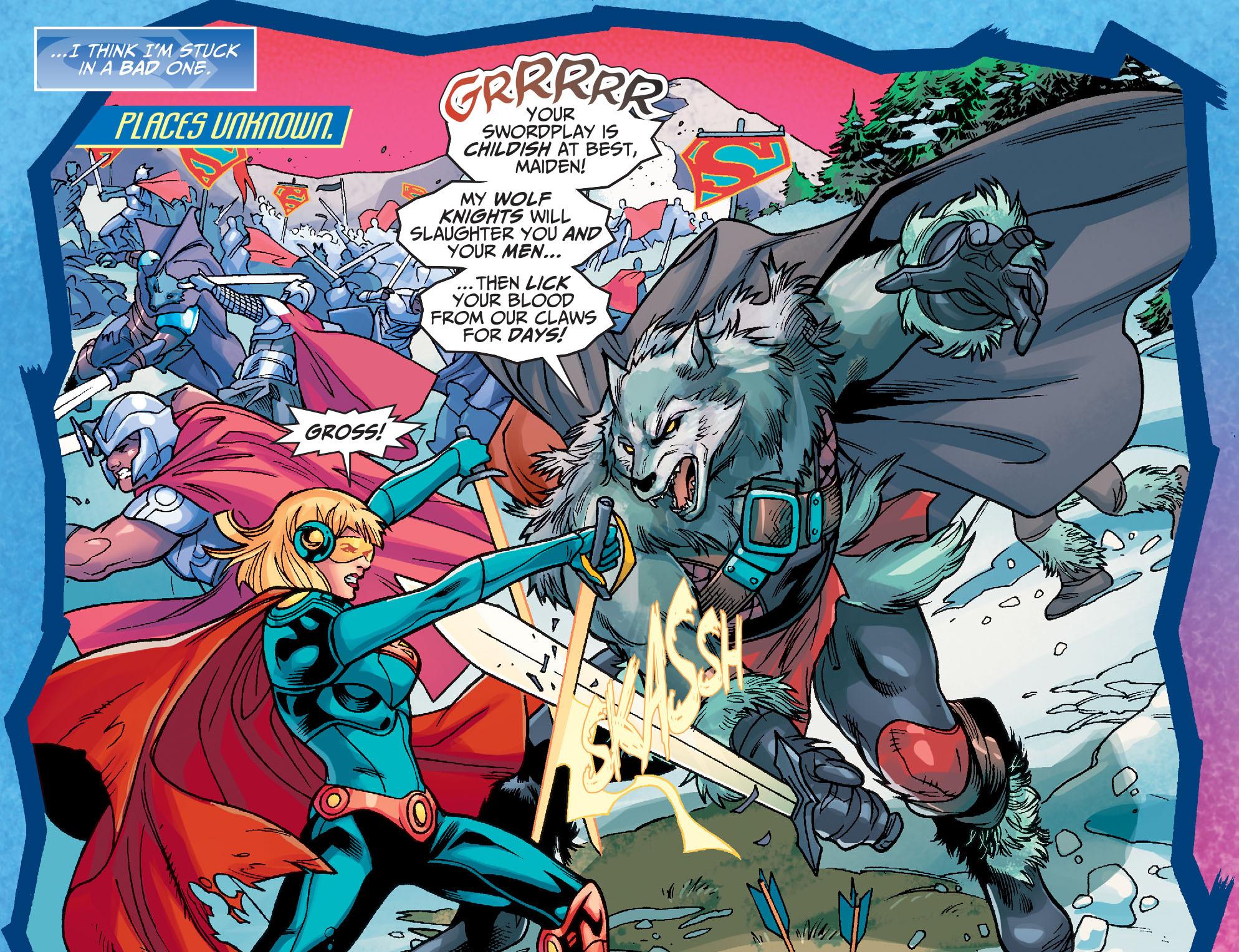 Read online Adventures of Supergirl comic -  Issue #7 - 5