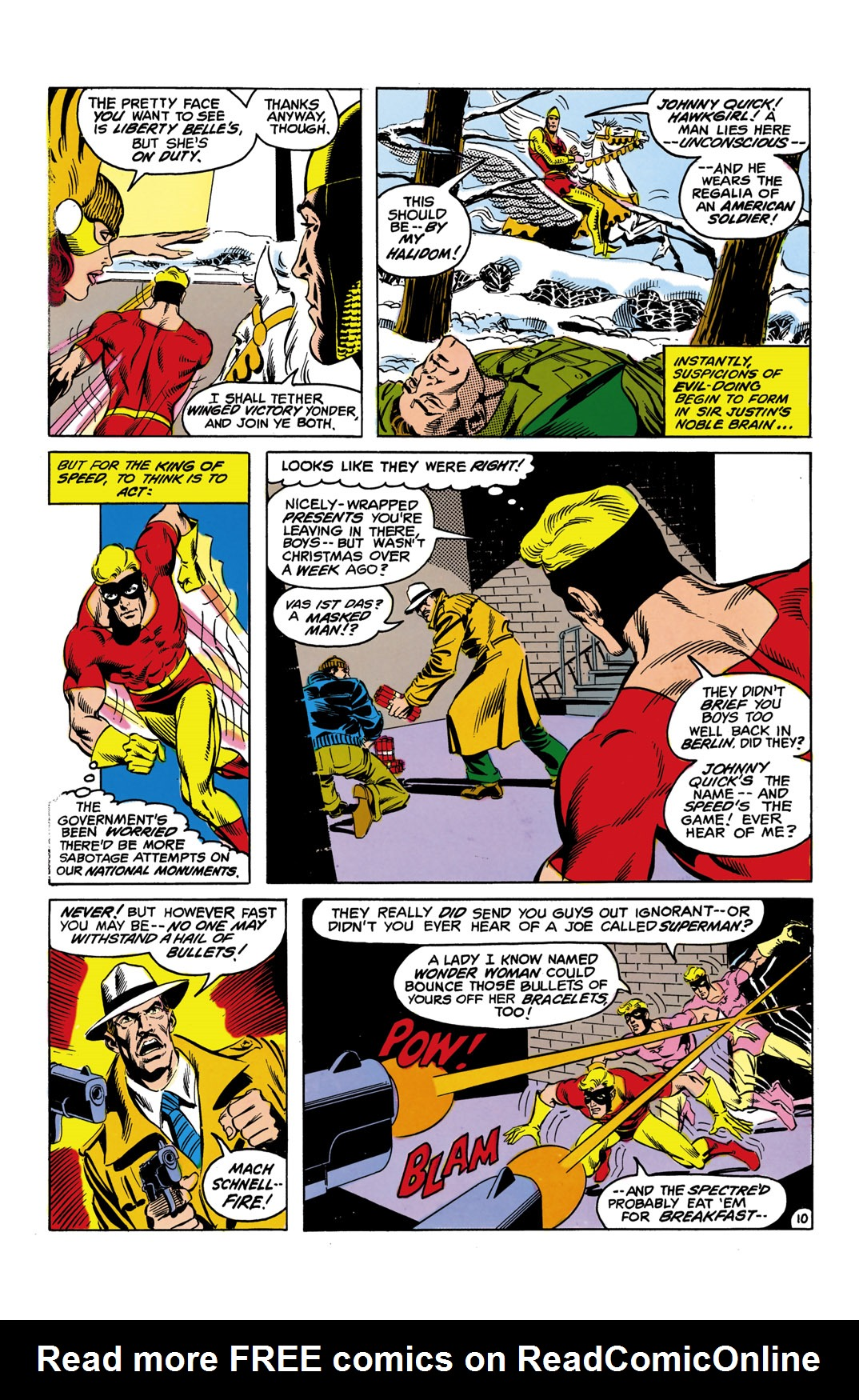 Read online All-Star Squadron comic -  Issue #10 - 11
