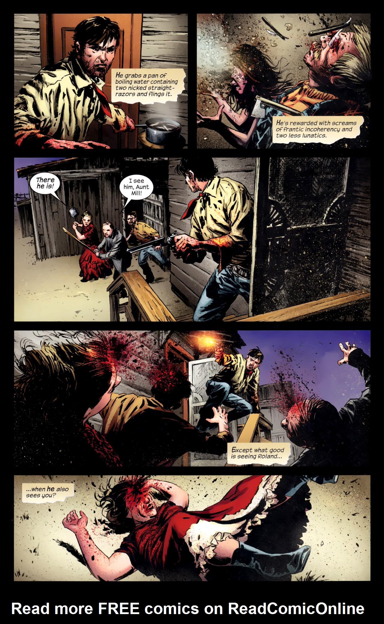 Read online Dark Tower: The Gunslinger - The Battle of Tull comic -  Issue #5 - 11