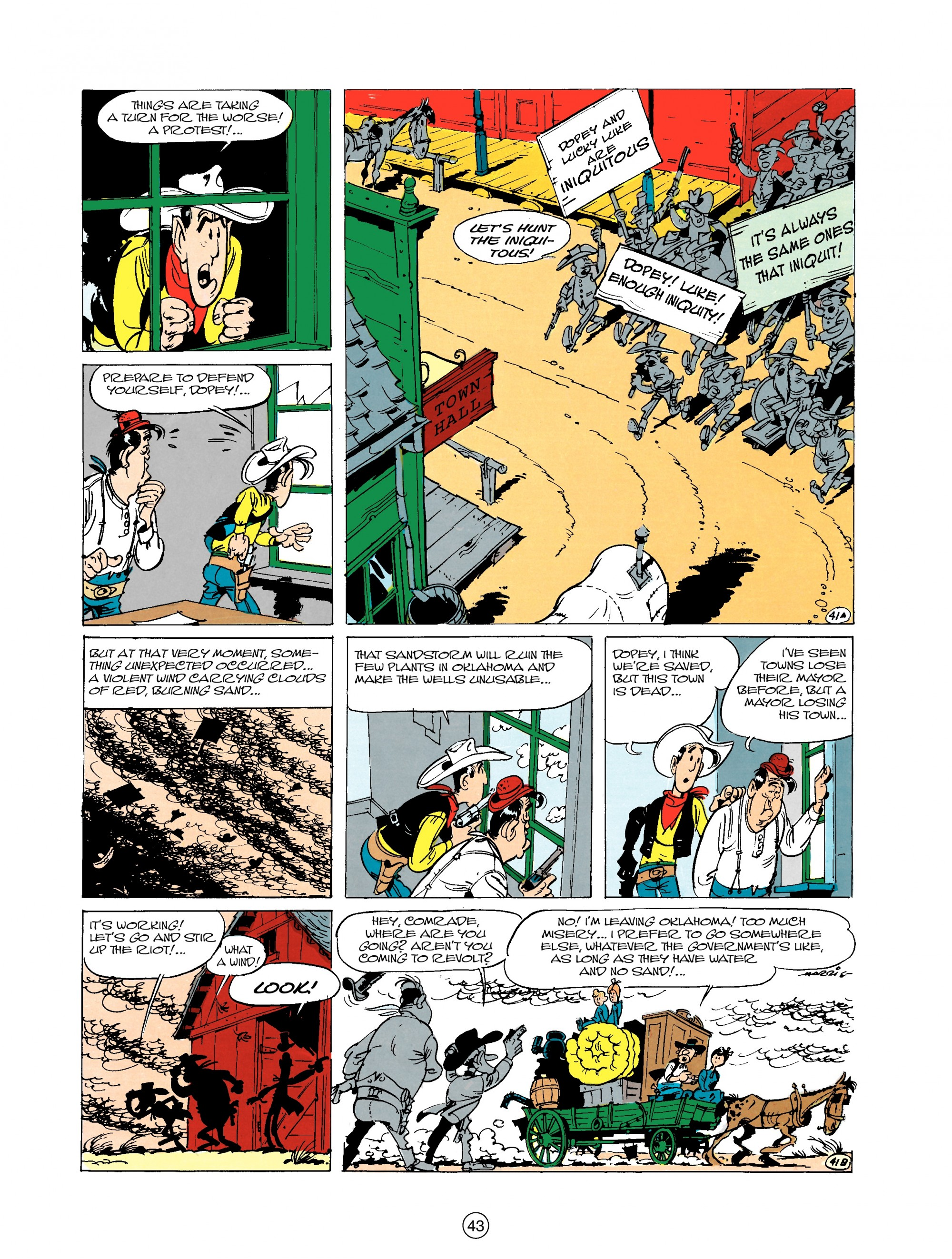 Read online A Lucky Luke Adventure comic -  Issue #20 - 43