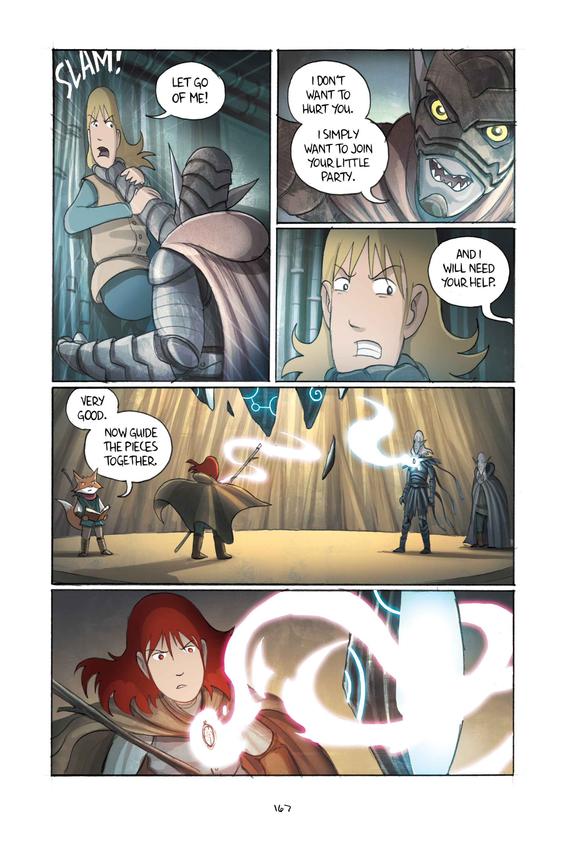 Read online Amulet comic -  Issue #3 - 163