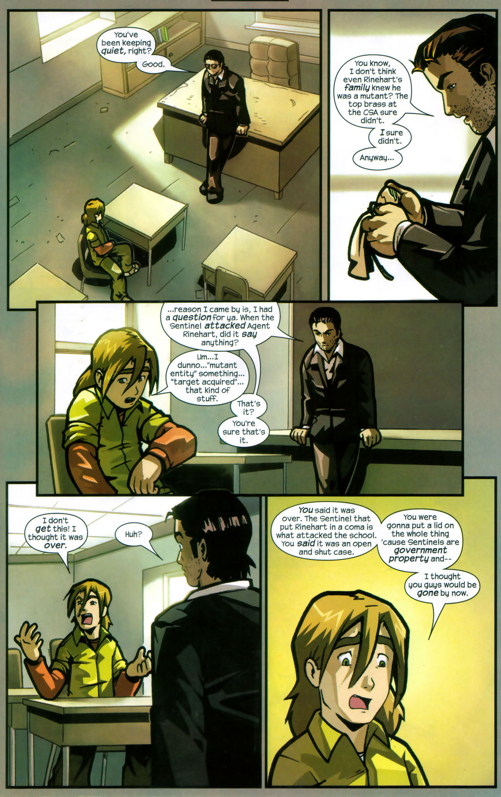 Read online Sentinel comic -  Issue #12 - 16