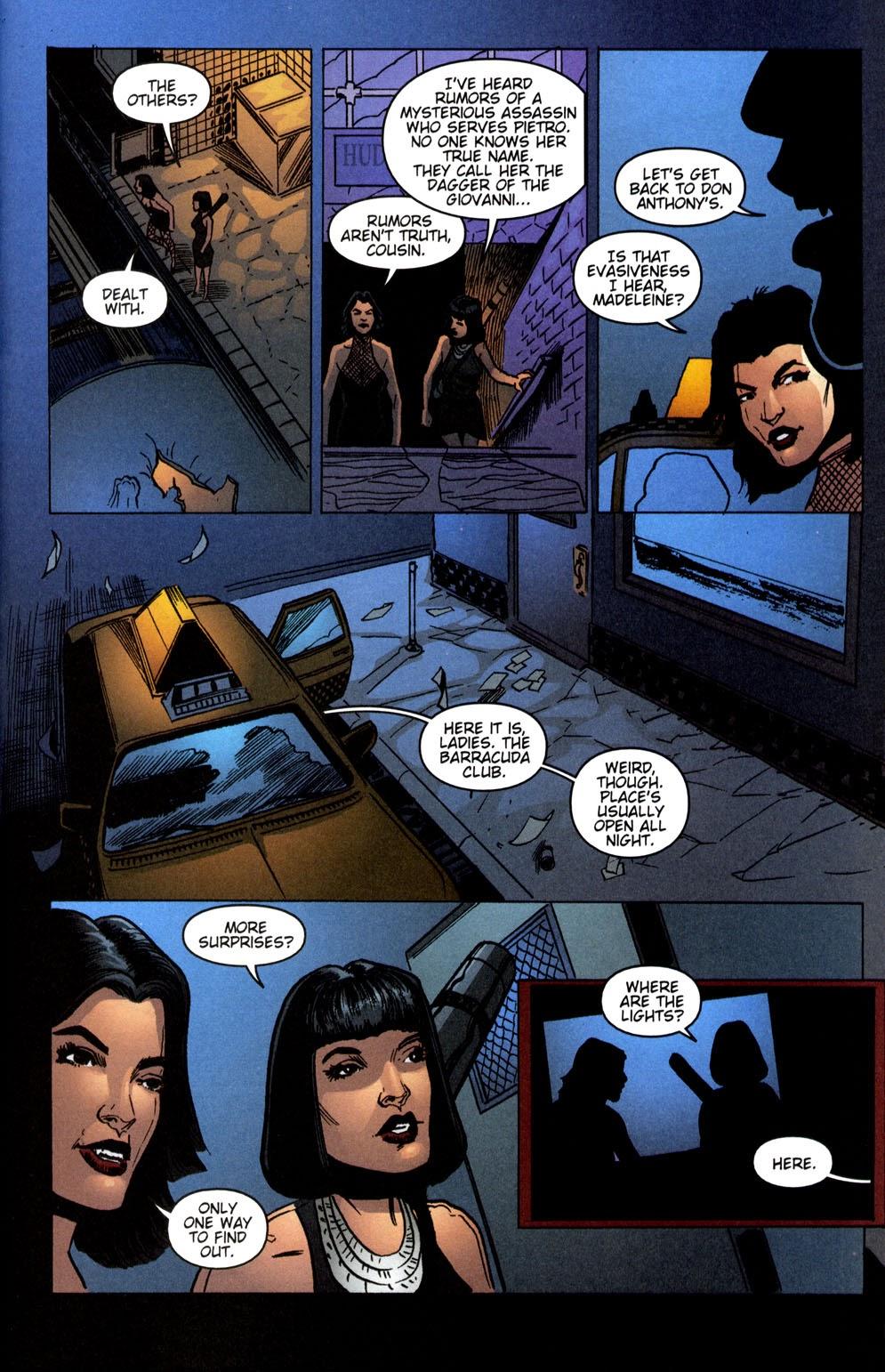 Read online Vampire the Masquerade comic -  Issue # Giovanni - 40