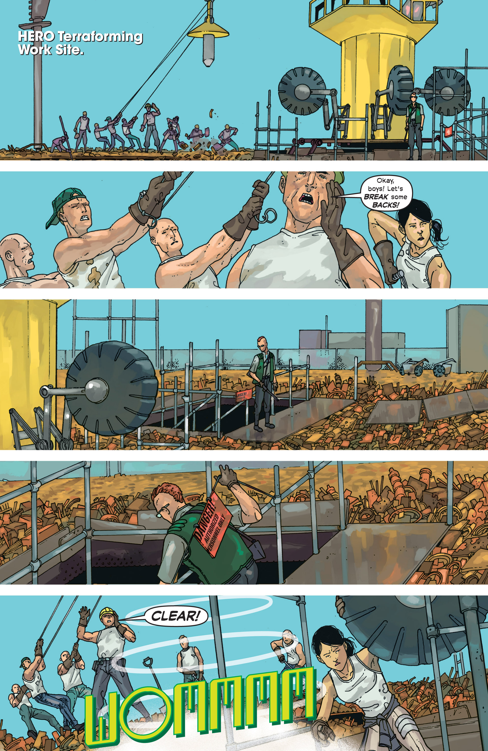 Read online Great Pacific comic -  Issue #9 - 12