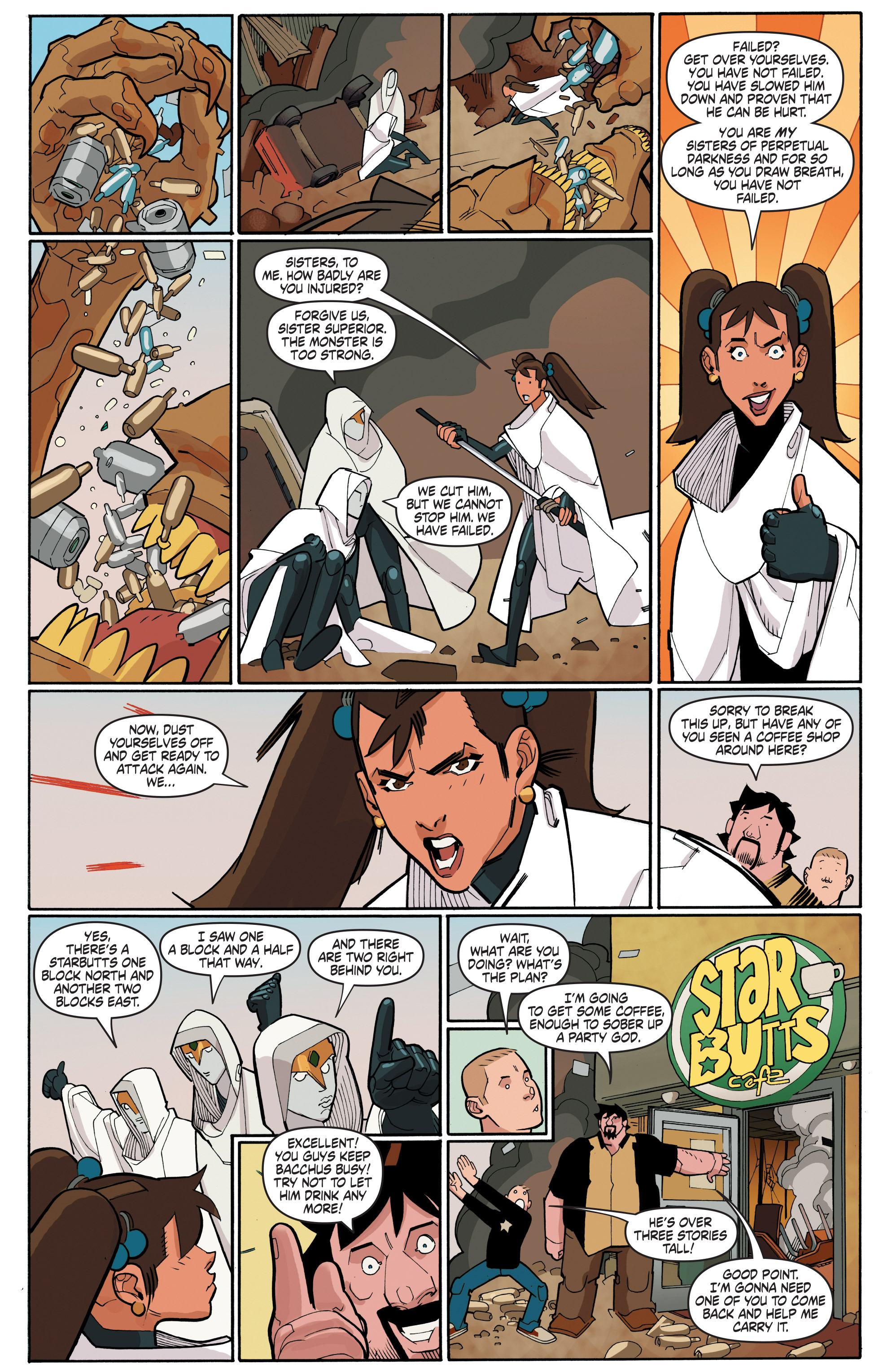 Read online A&A: The Adventures of Archer & Armstrong comic -  Issue #4 - 12