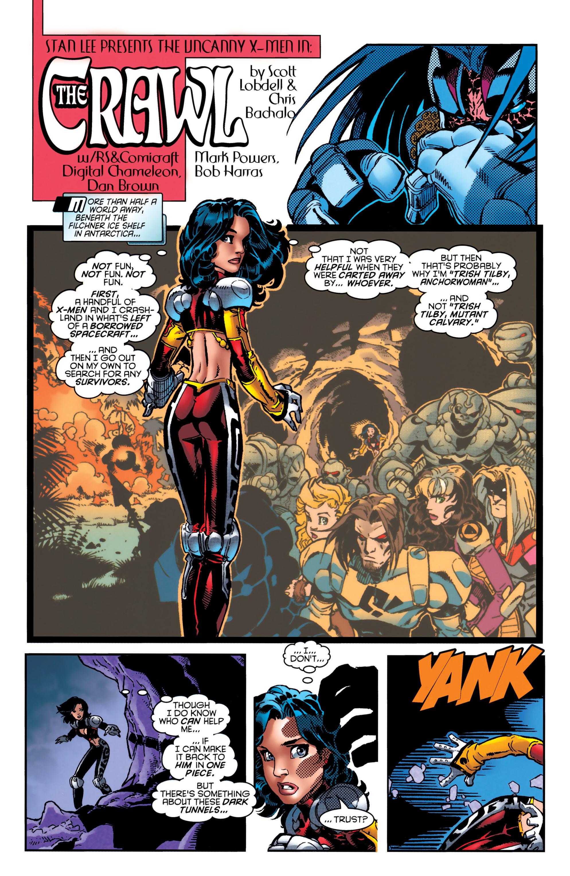 Read online Uncanny X-Men (1963) comic -  Issue #349 - 4