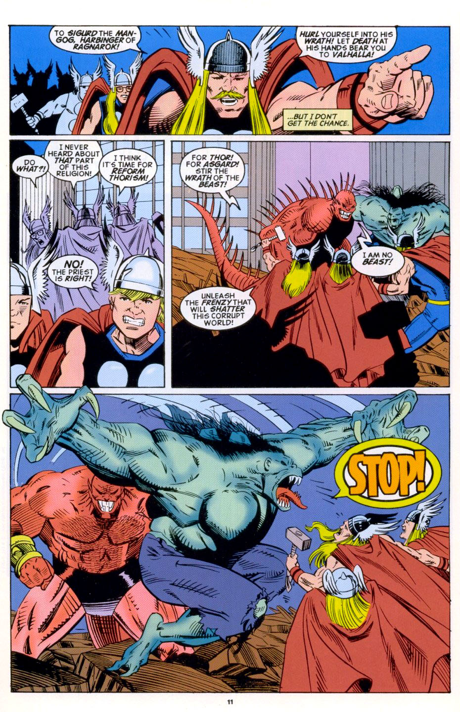 Read online 2099 Unlimited comic -  Issue #4 - 9