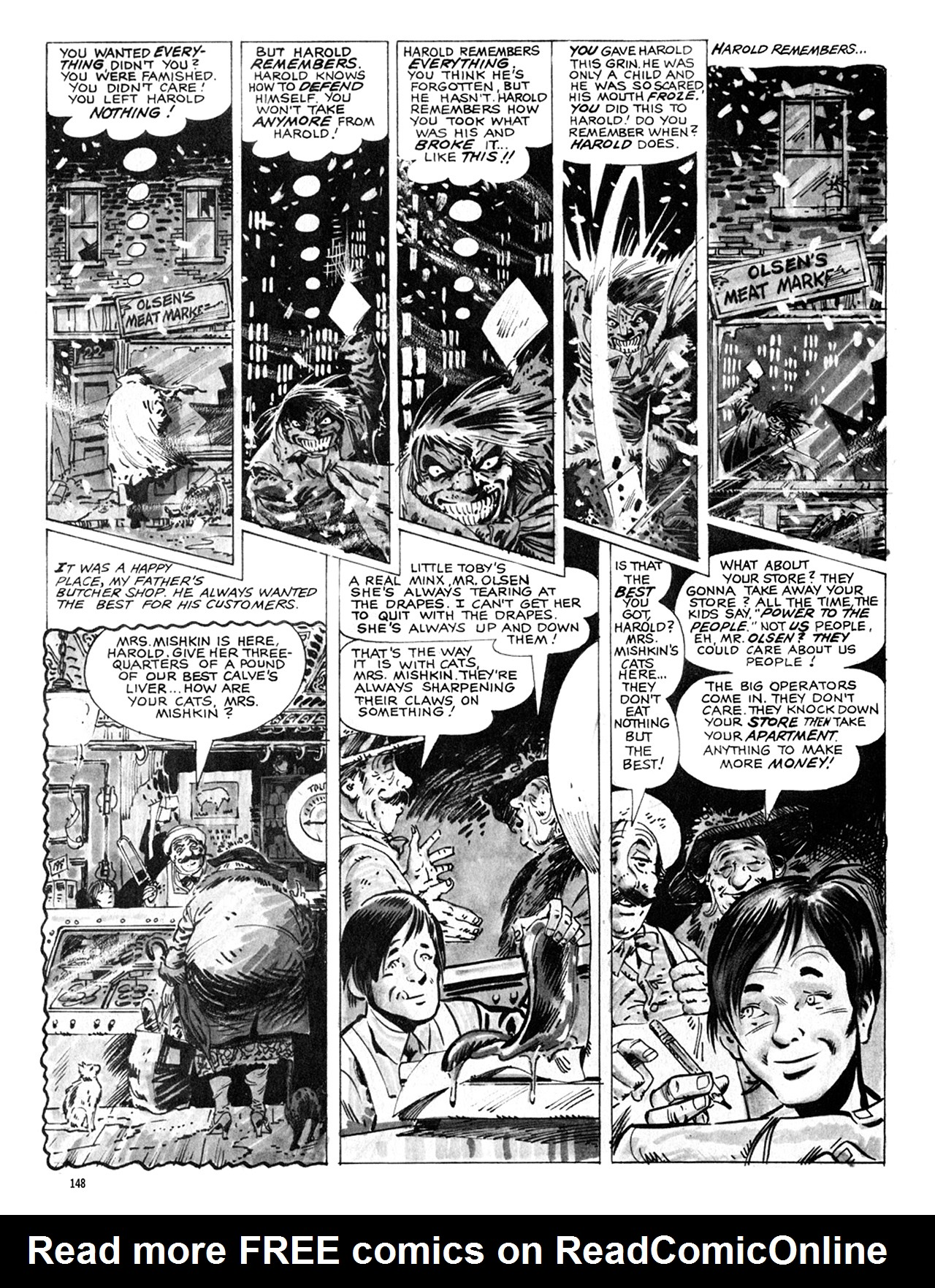 Read online Eerie Archives comic -  Issue # TPB 8 - 149