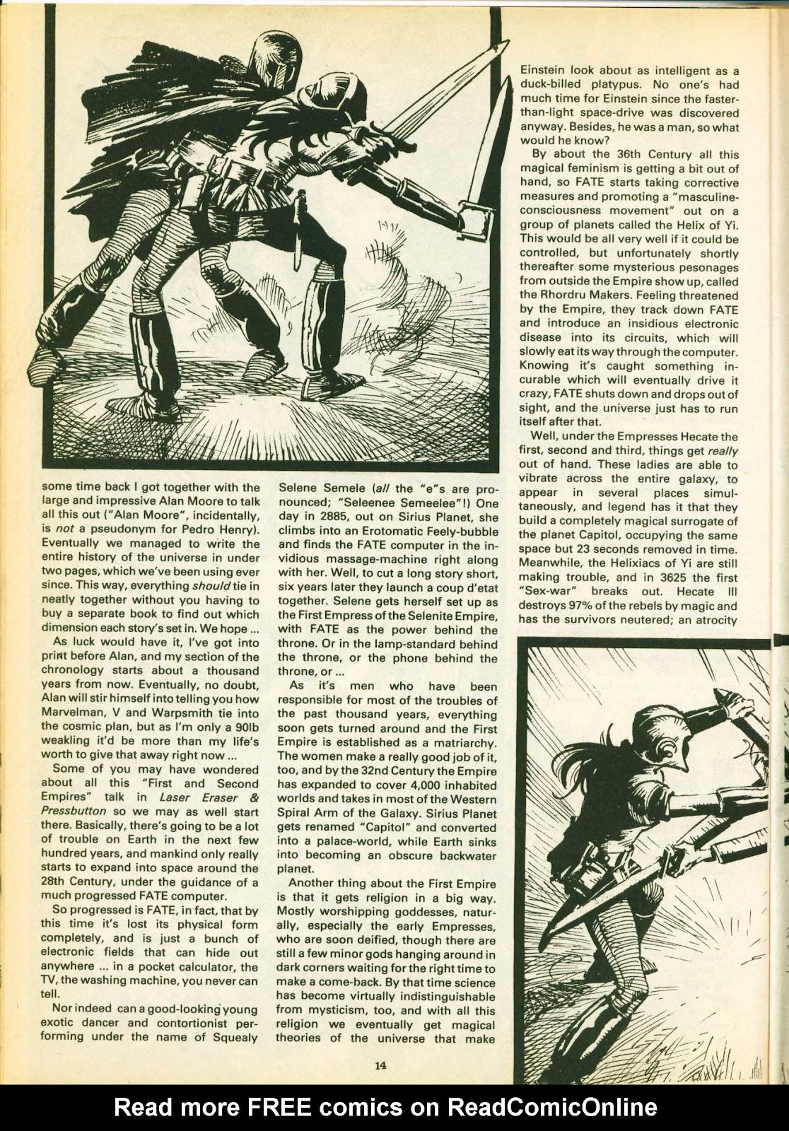 Warrior Issue #14 #15 - English 14