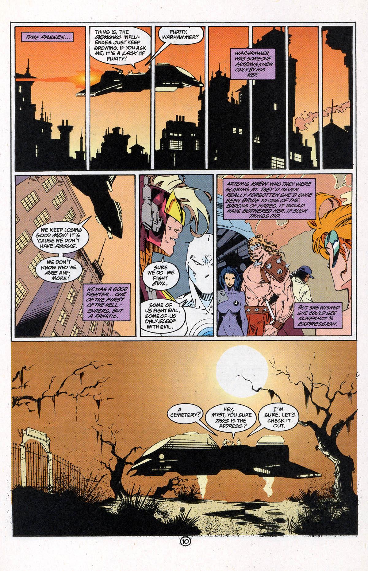 Read online Artemis: Requiem comic -  Issue #5 - 14