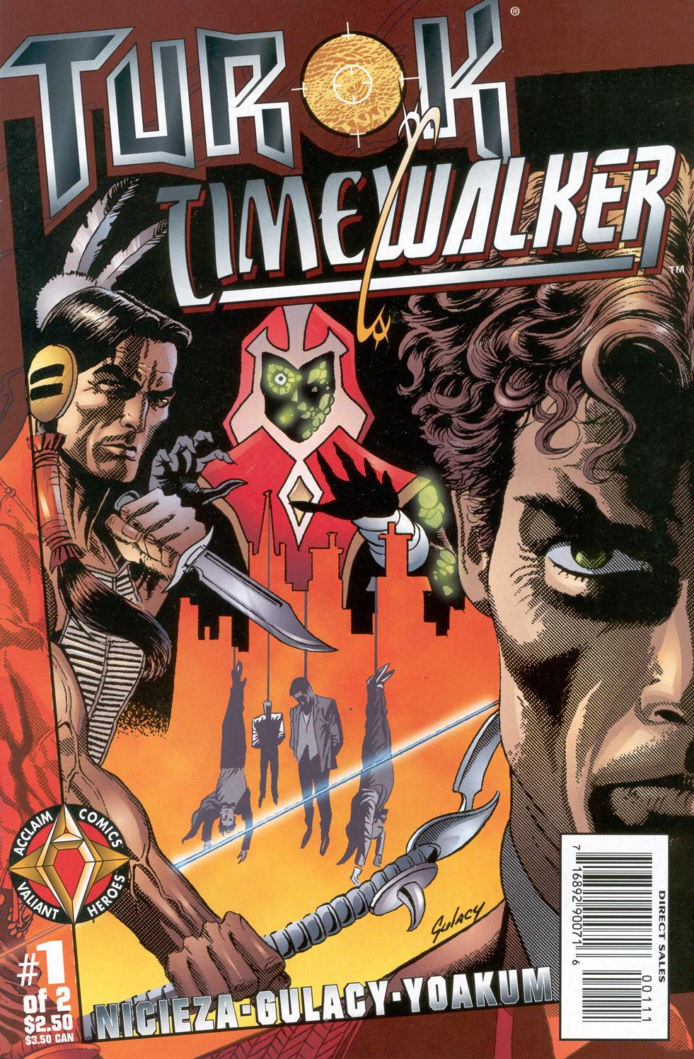 Turok / Timewalker: Seventh Sabbath issue 1 - Page 1