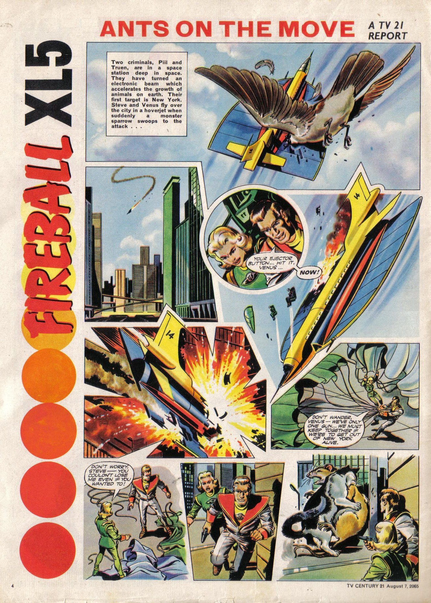 Read online TV Century 21 (TV 21) comic -  Issue #29 - 5