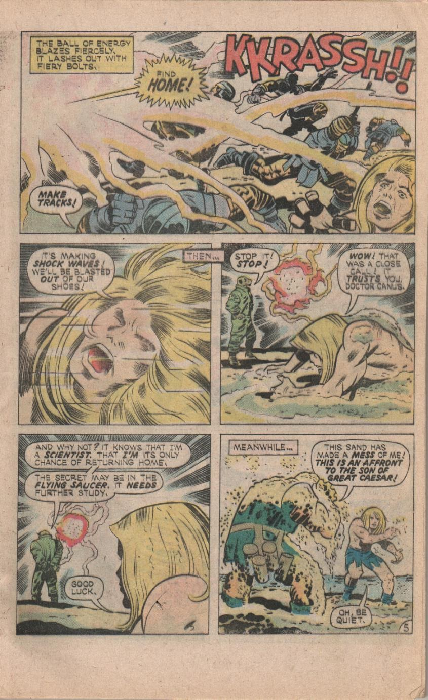 Kamandi, The Last Boy On Earth issue 32 - Page 7