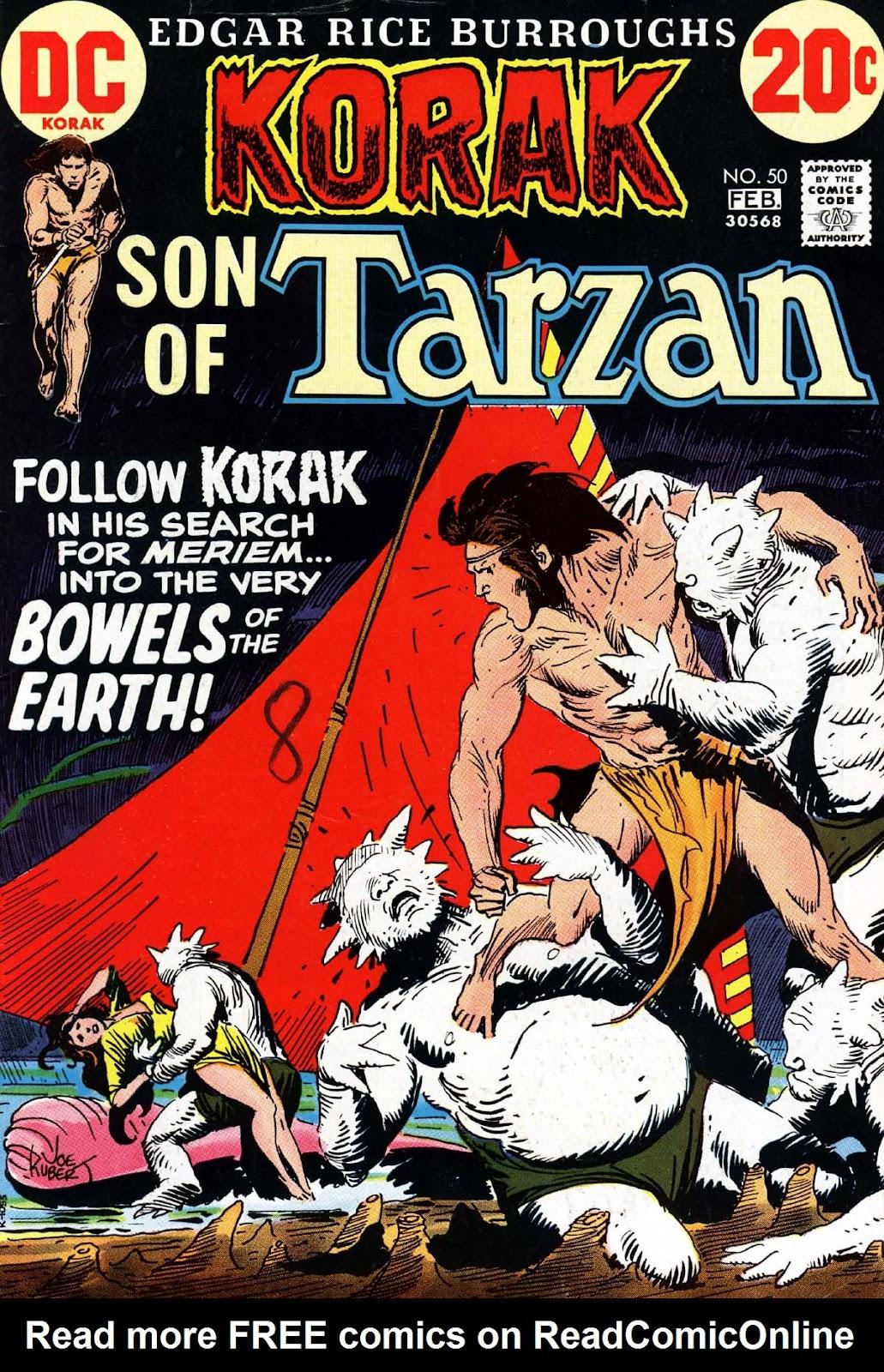 Korak, Son of Tarzan (1972) 50 Page 1