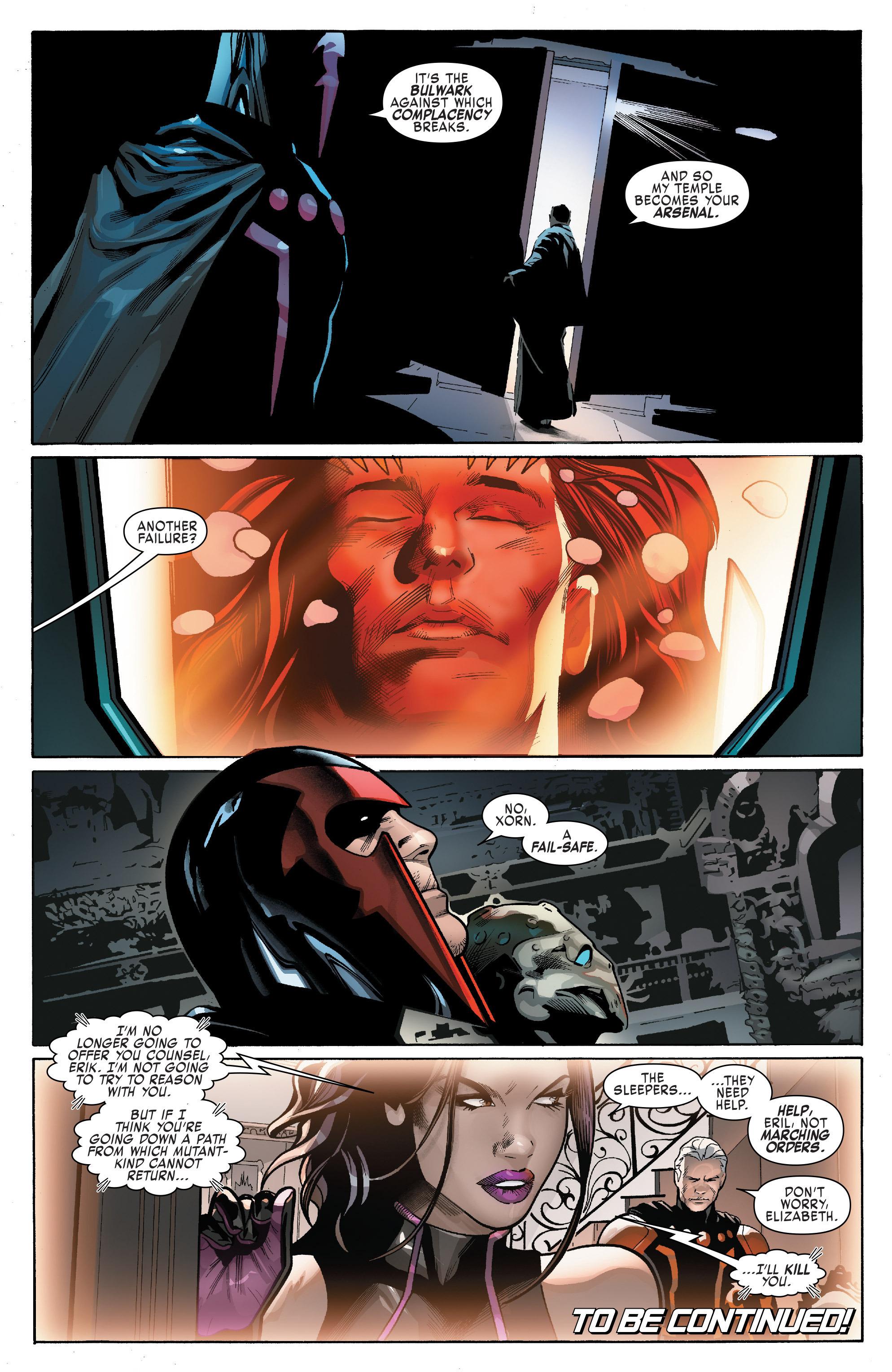 Read online Uncanny X-Men (2016) comic -  Issue #14 - 21